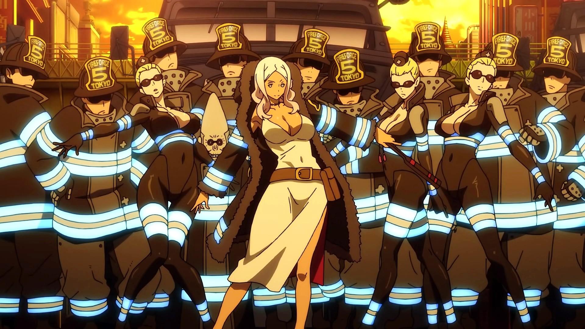 Fire Force hd wallpaper download