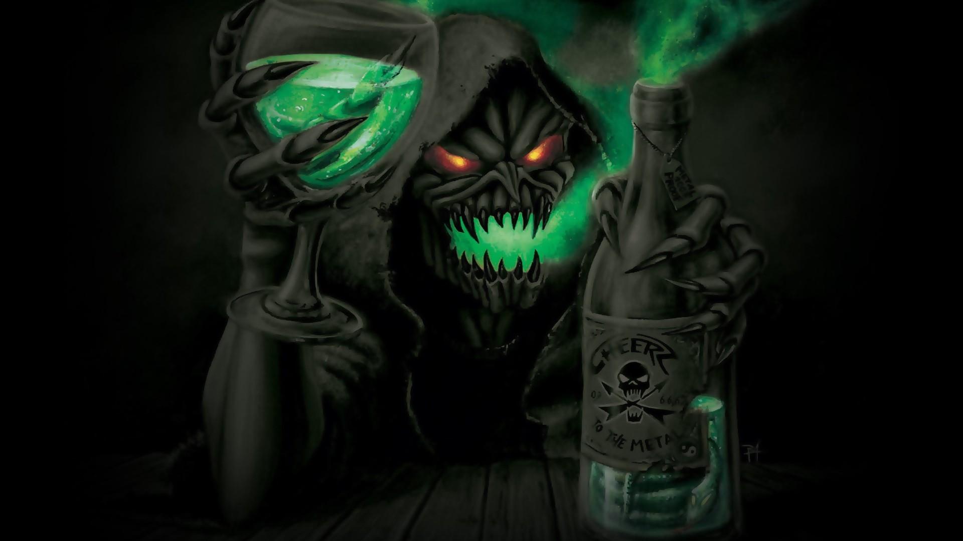 Grim Reaper Background Wallpaper