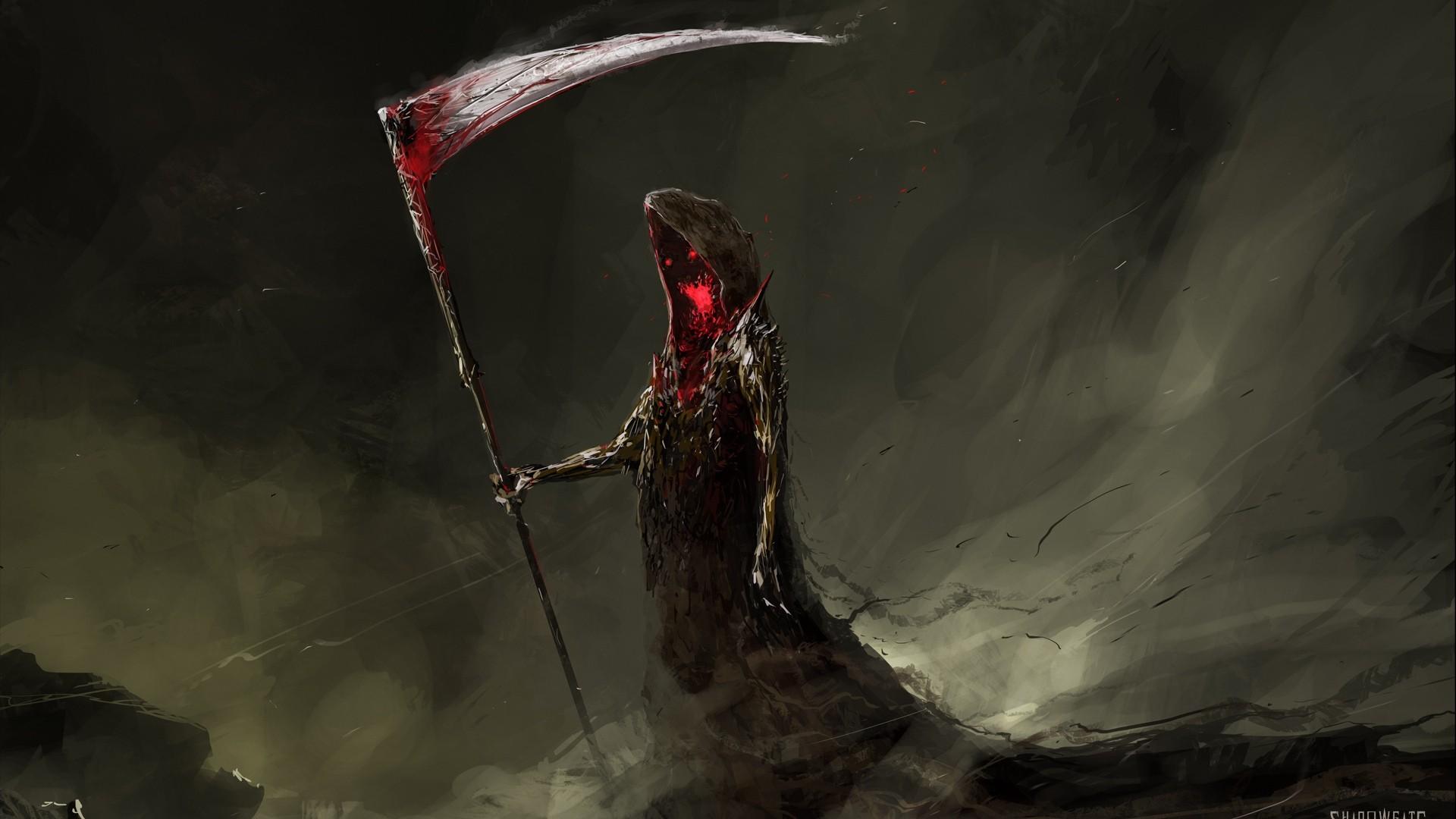 Grim Reaper Full HD Wallpaper