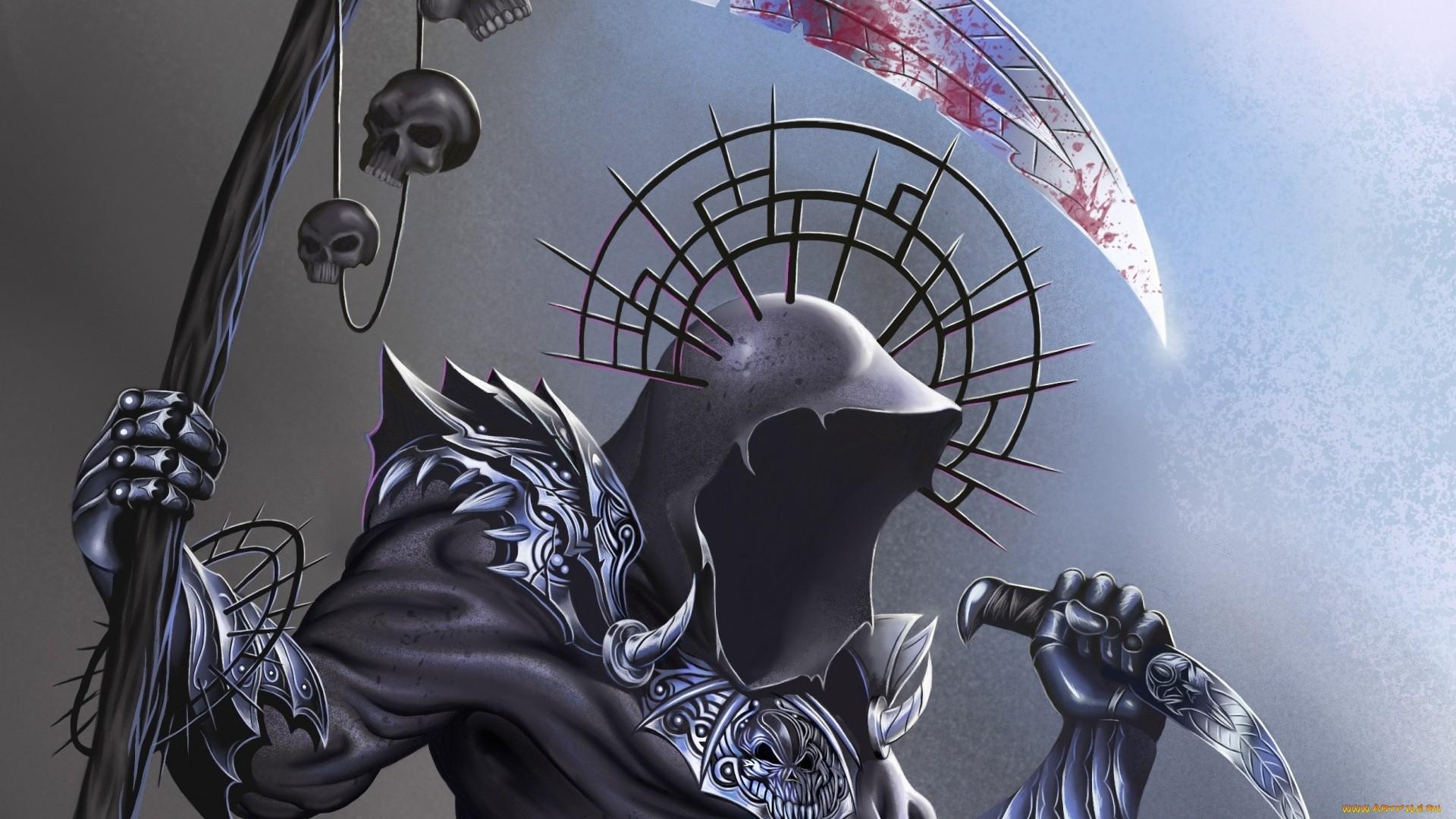 Grim Reaper HD Wallpaper