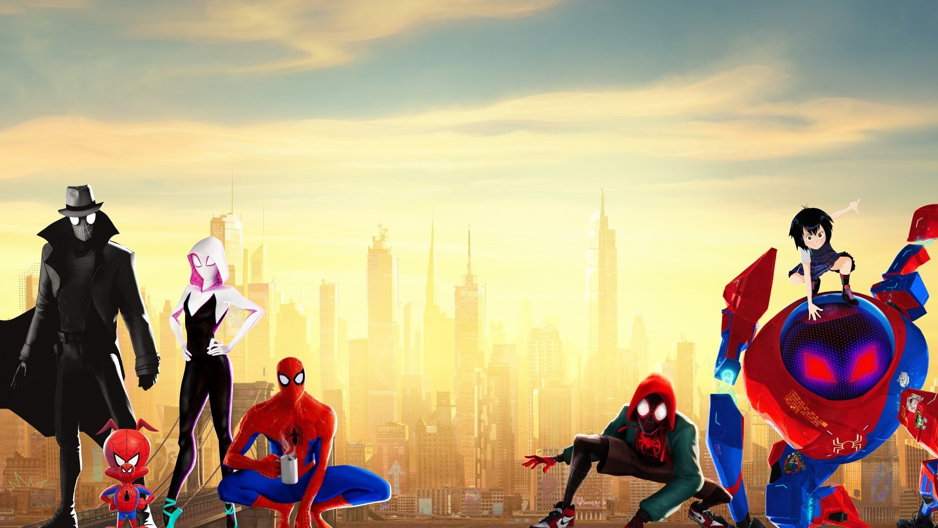 Into The Spider Verse Background