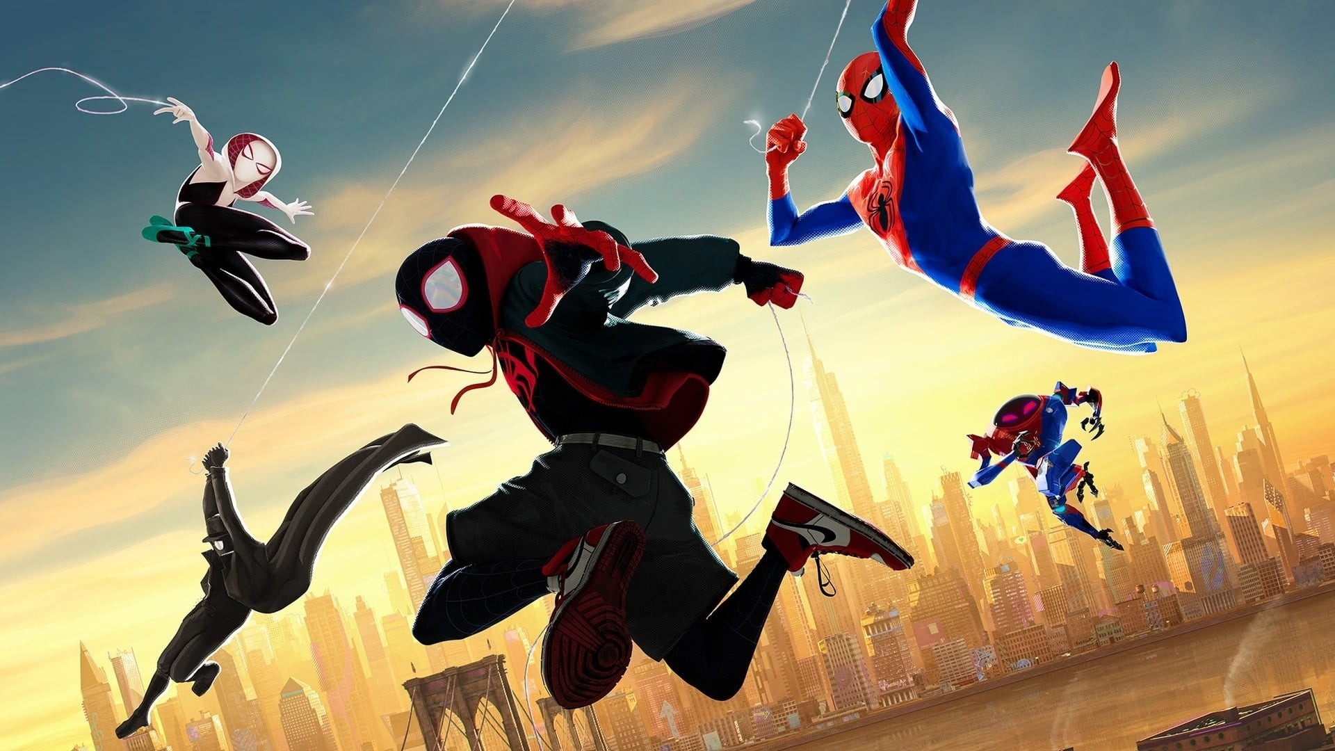 Into The Spider Verse Wallpaper image hd