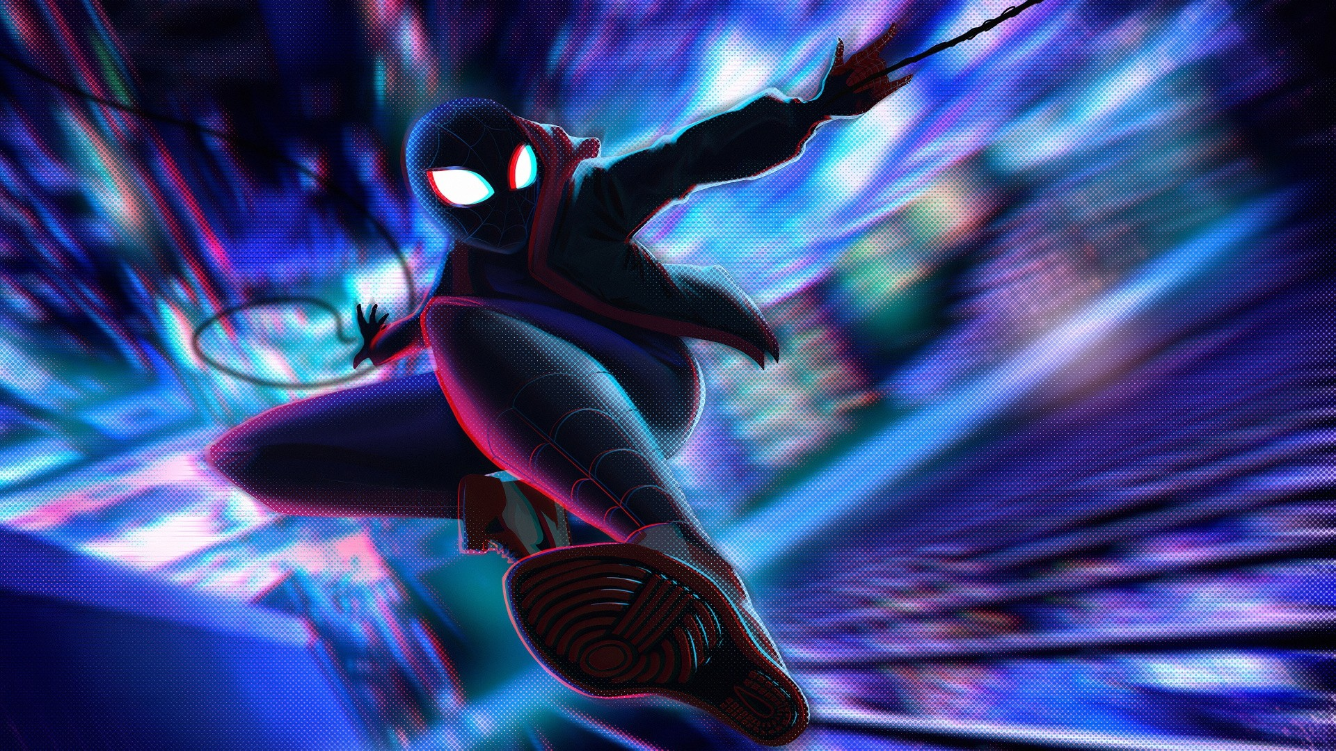 Into The Spider Verse computer wallpaper