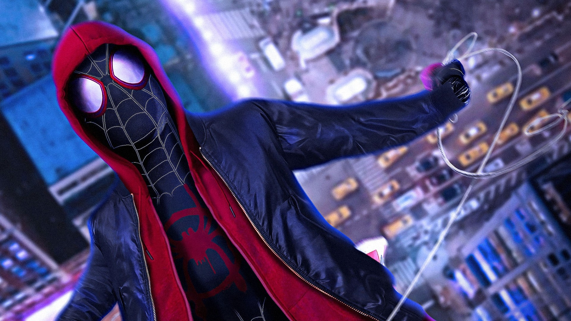 Into The Spider Verse Download Wallpaper