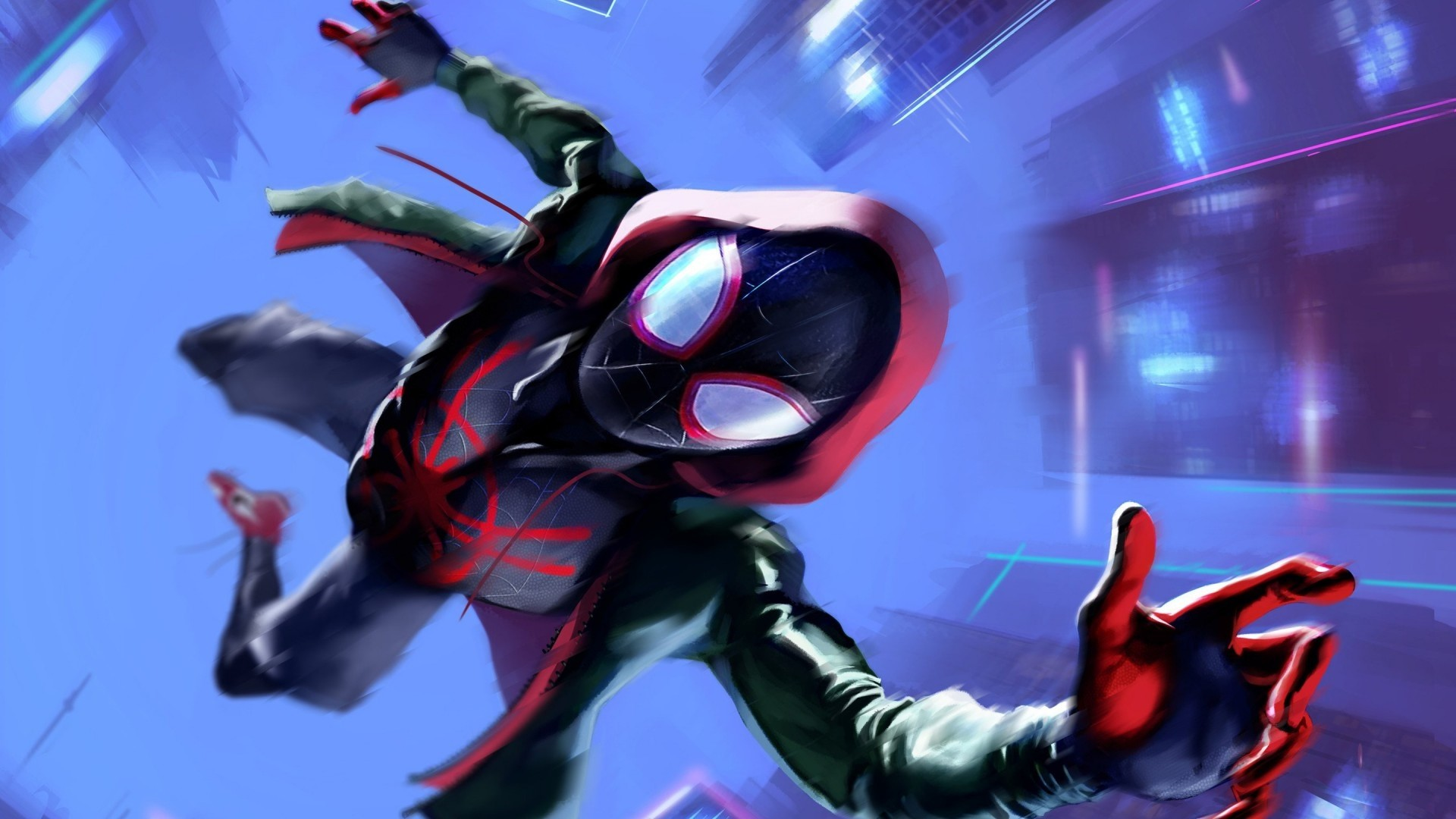 Into The Spider Verse High Quality