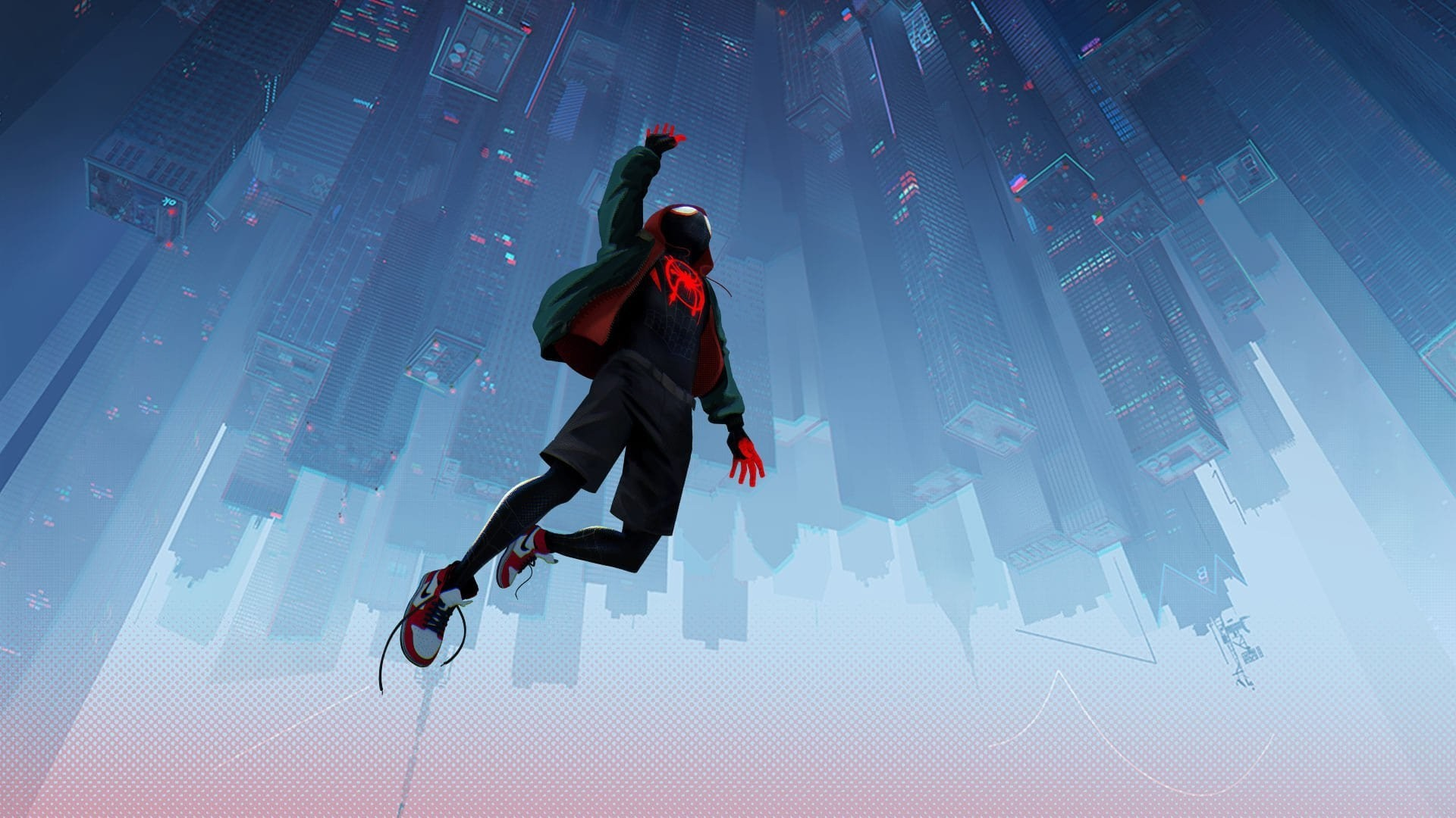 Into The Spider Verse a wallpaper