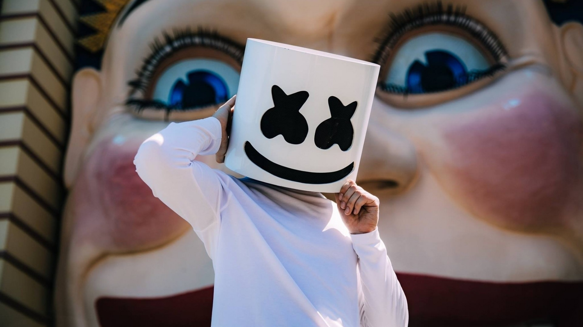 Marshmello Free Wallpaper and Background