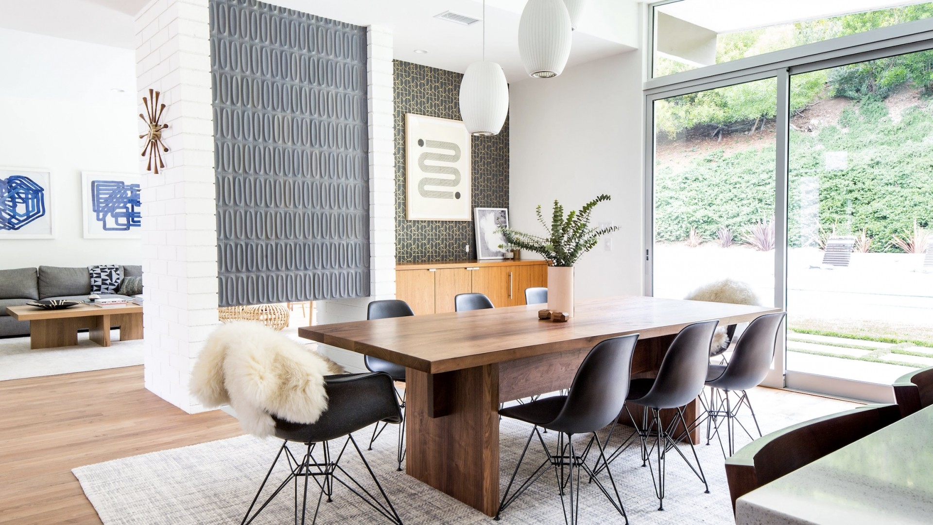 Mid Century Modern Free Wallpaper and Background
