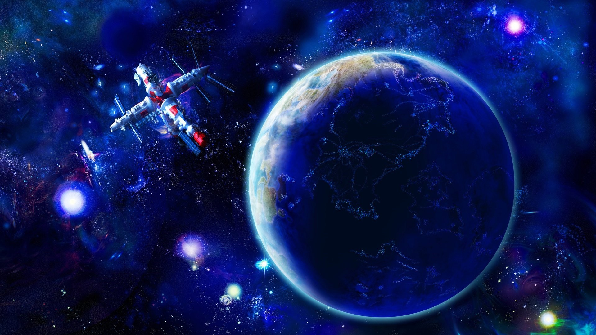 Outer Space Wallpaper image hd