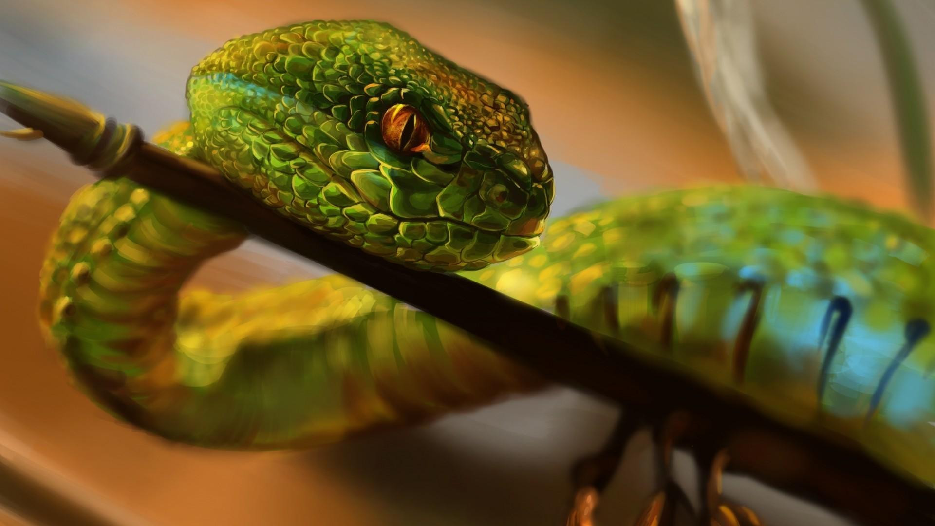 Snake computer wallpaper