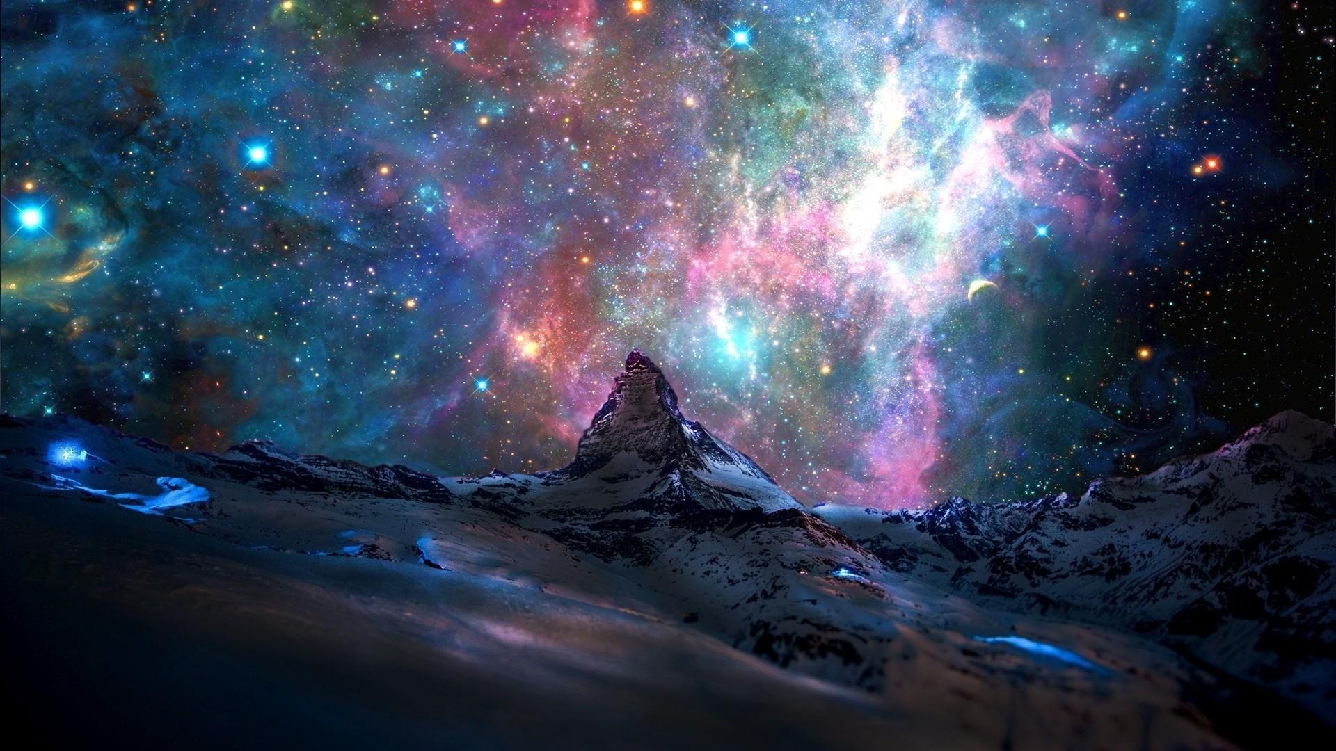 Space a wallpaper