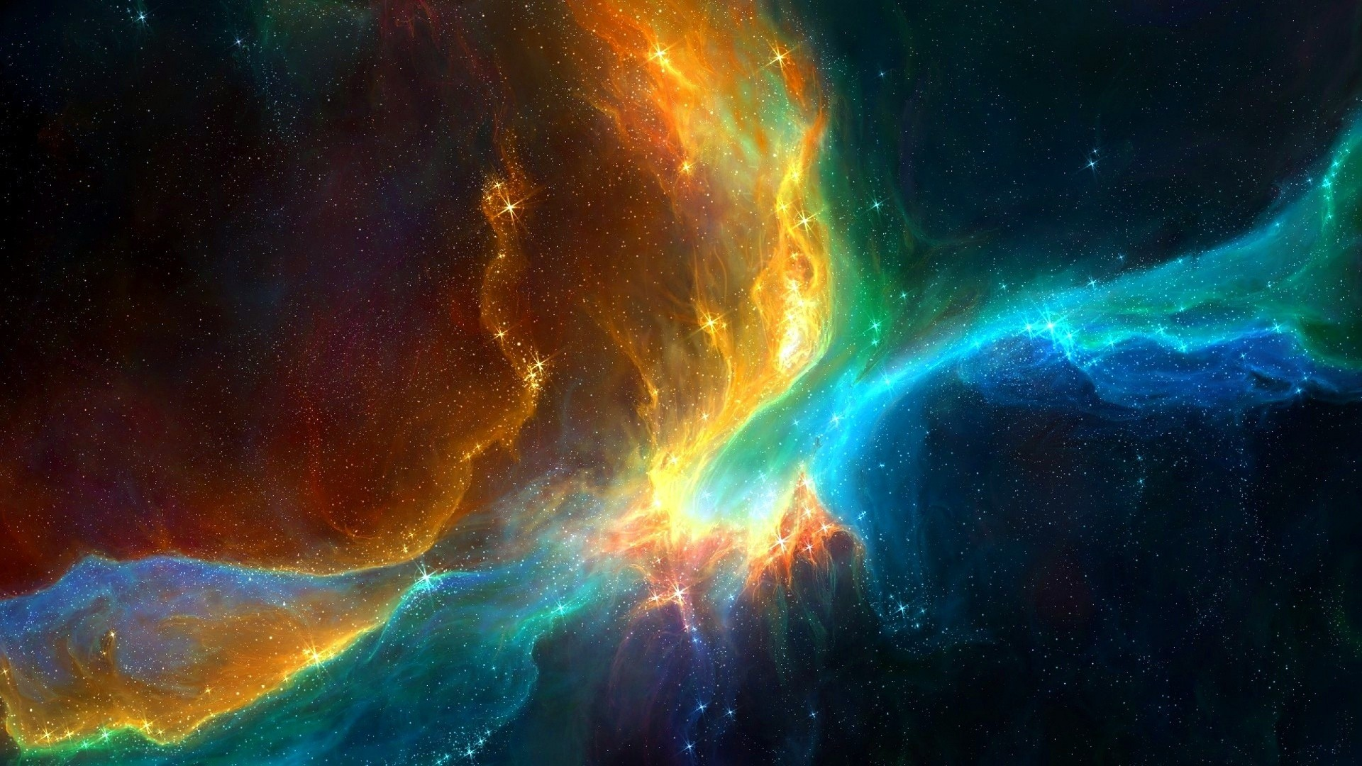 Space Full HD Wallpaper