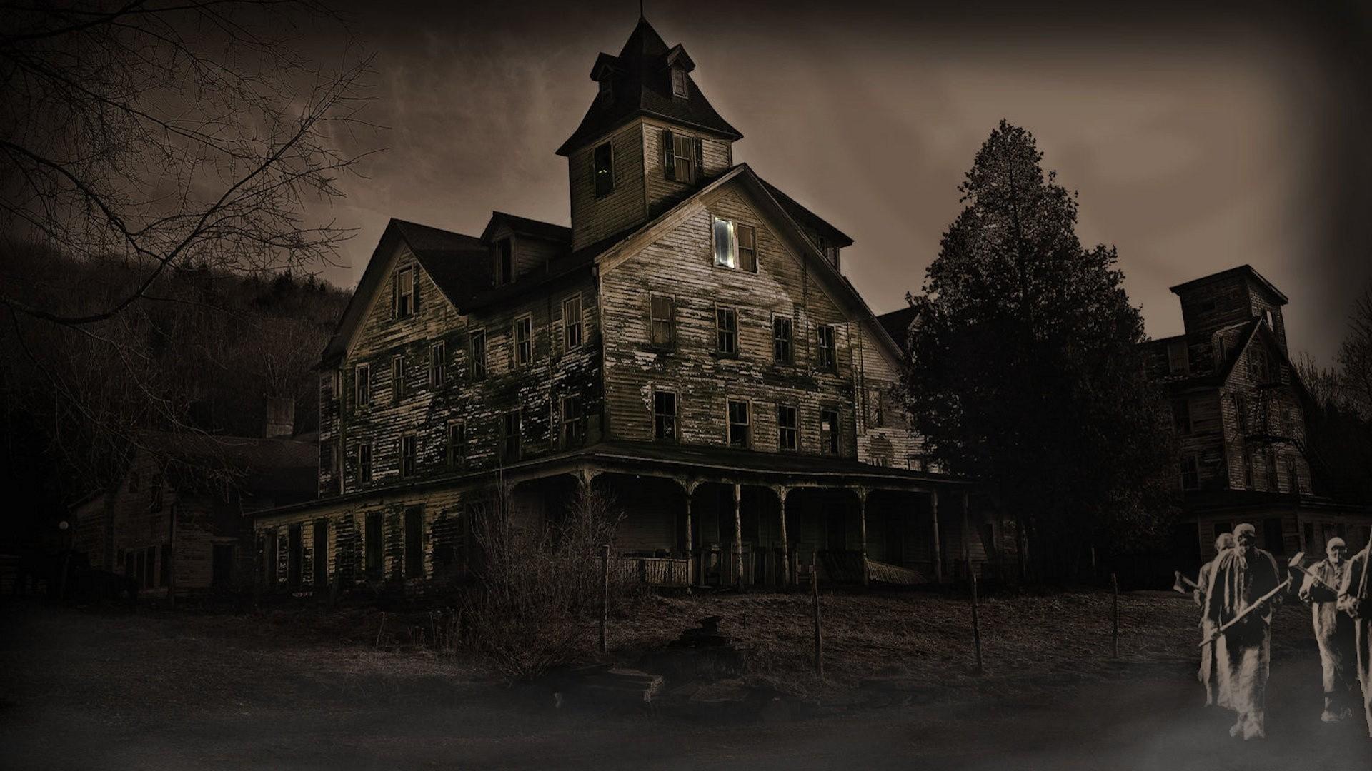 Spooky Full HD Wallpaper