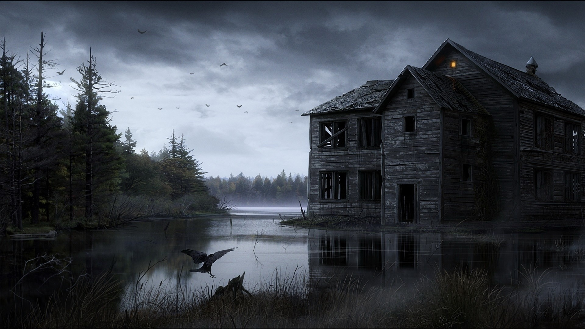Spooky PC Wallpaper HD