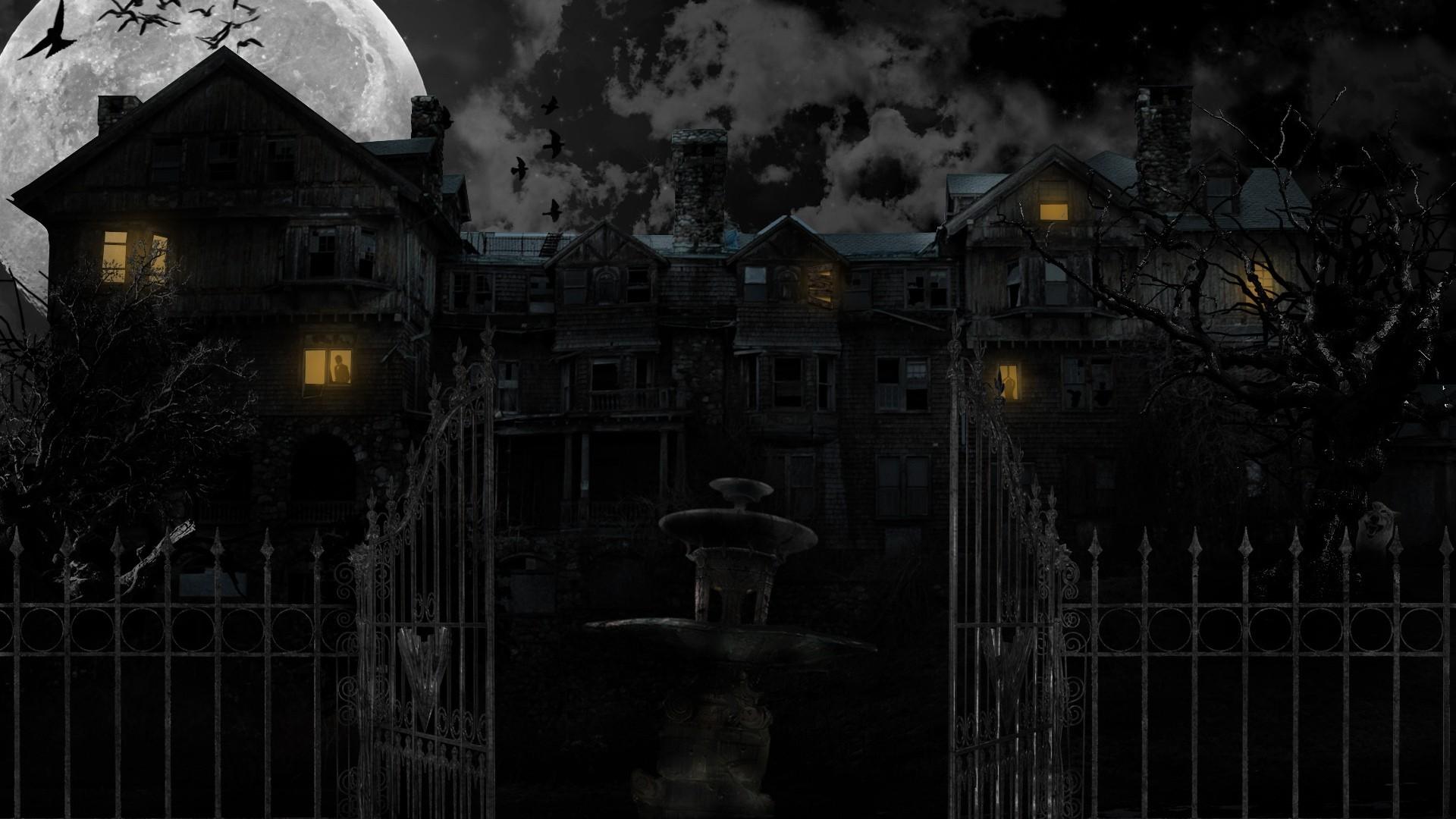 Spooky Background Wallpaper