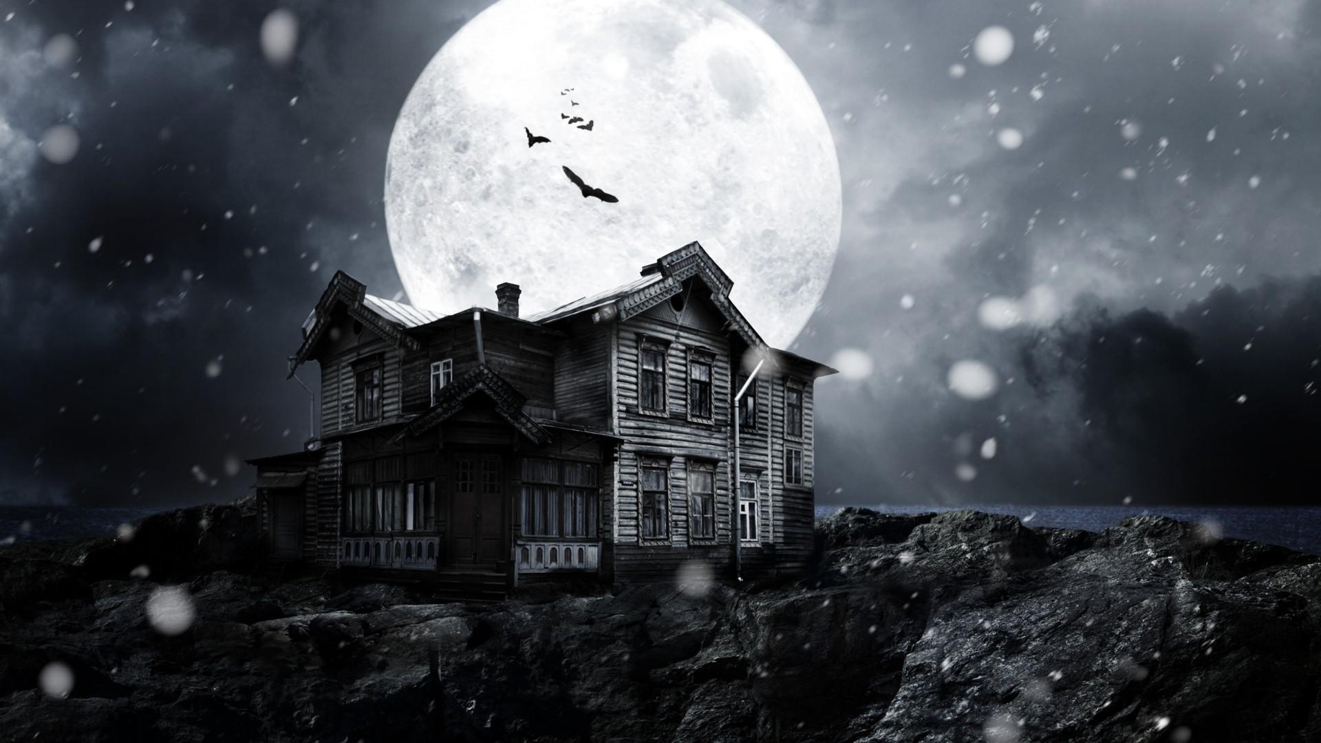 Spooky Wallpaper theme
