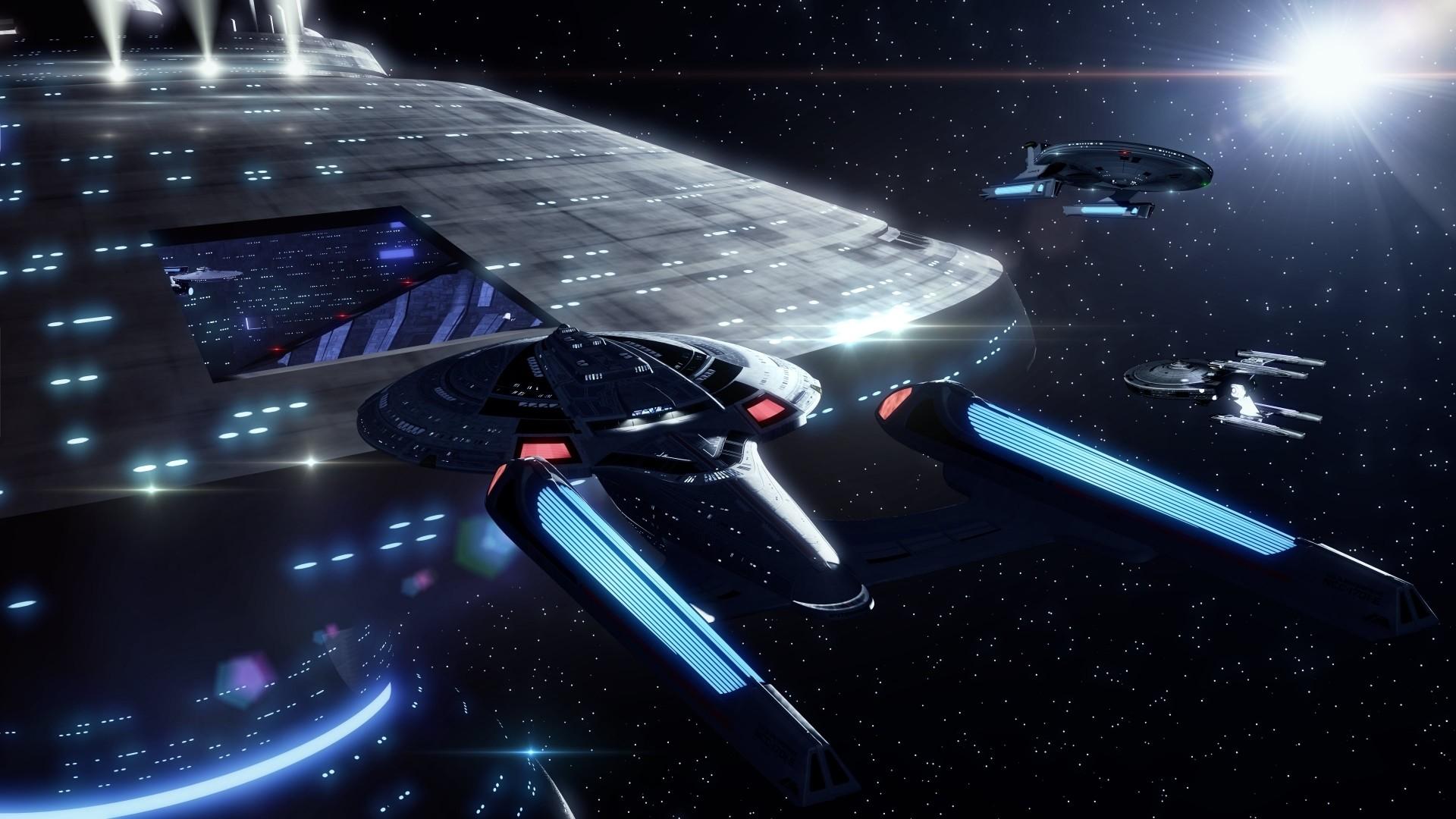 Star Trek computer wallpaper