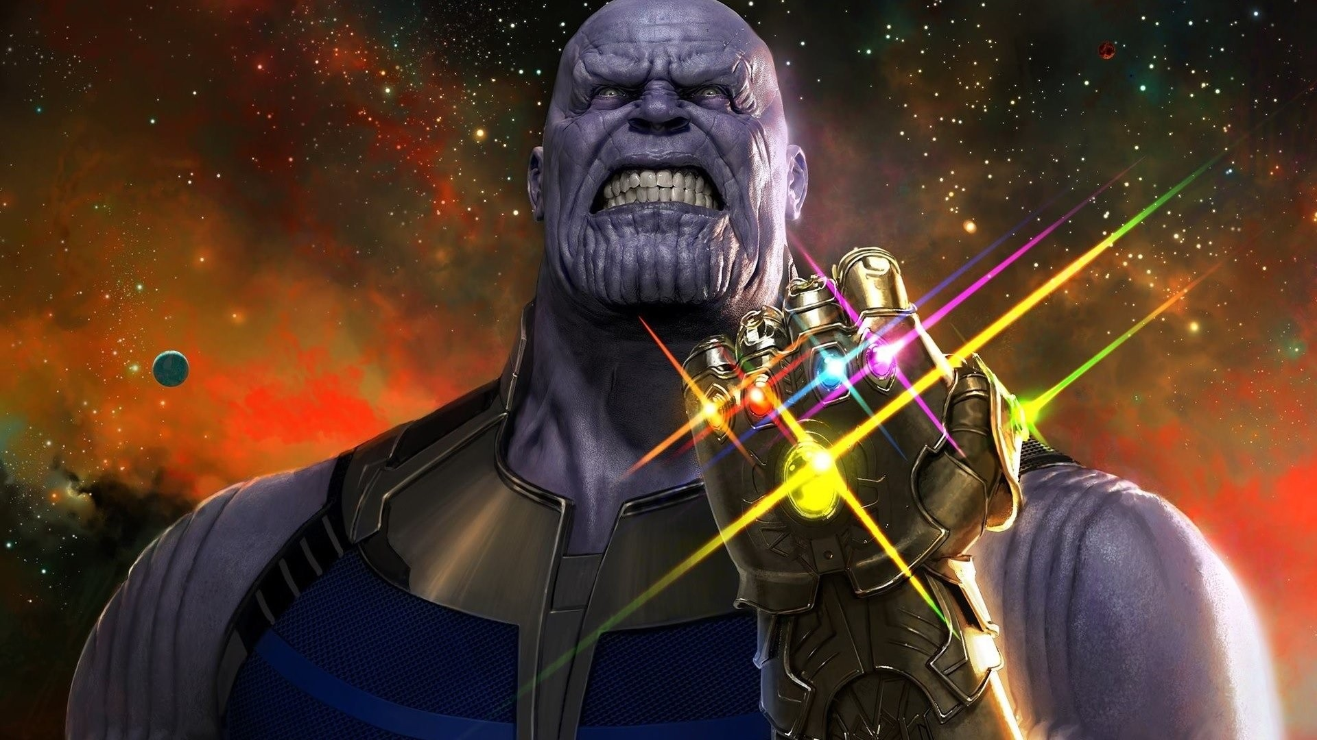 Thanos hd wallpaper download