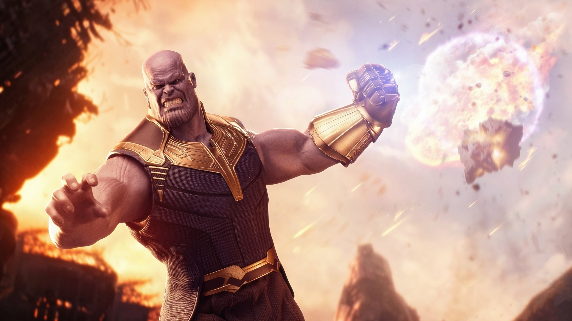 Thanos PC Wallpaper HD
