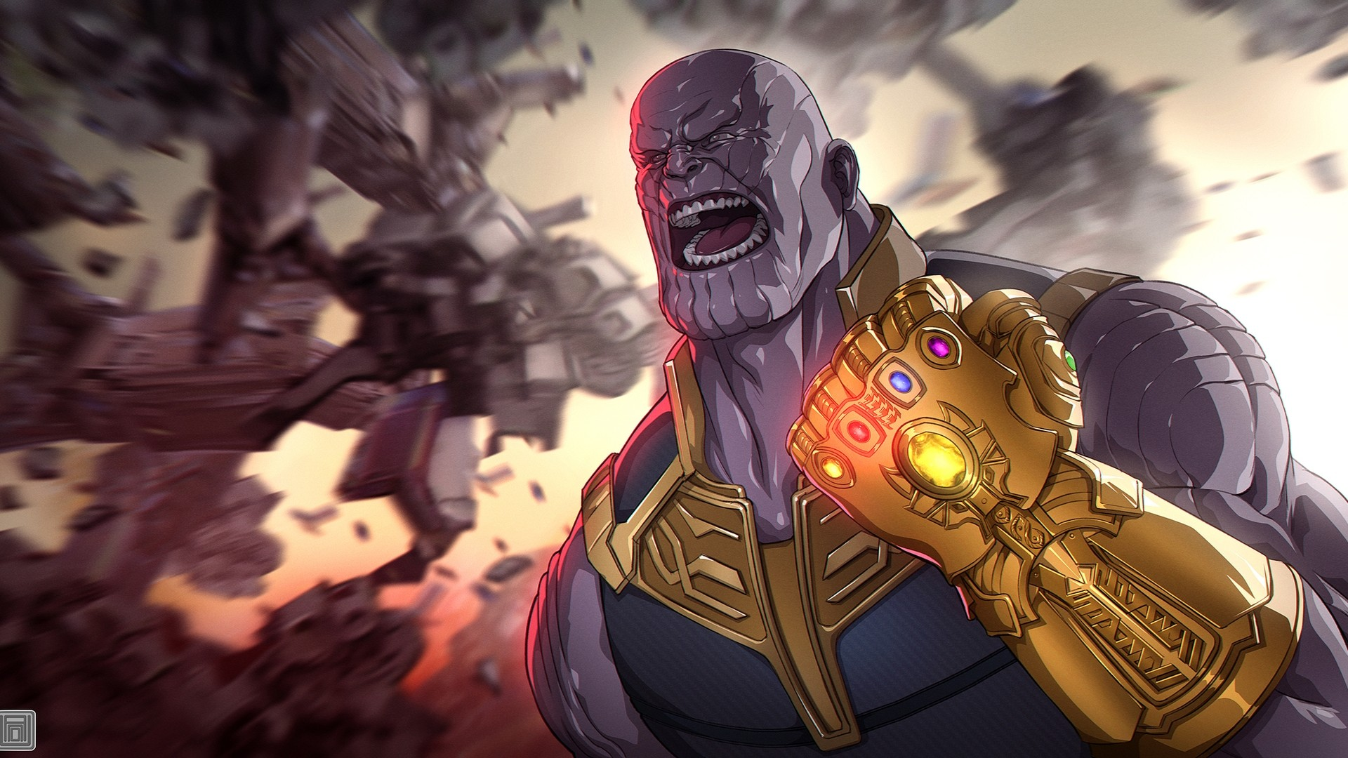 Thanos Full HD Wallpaper