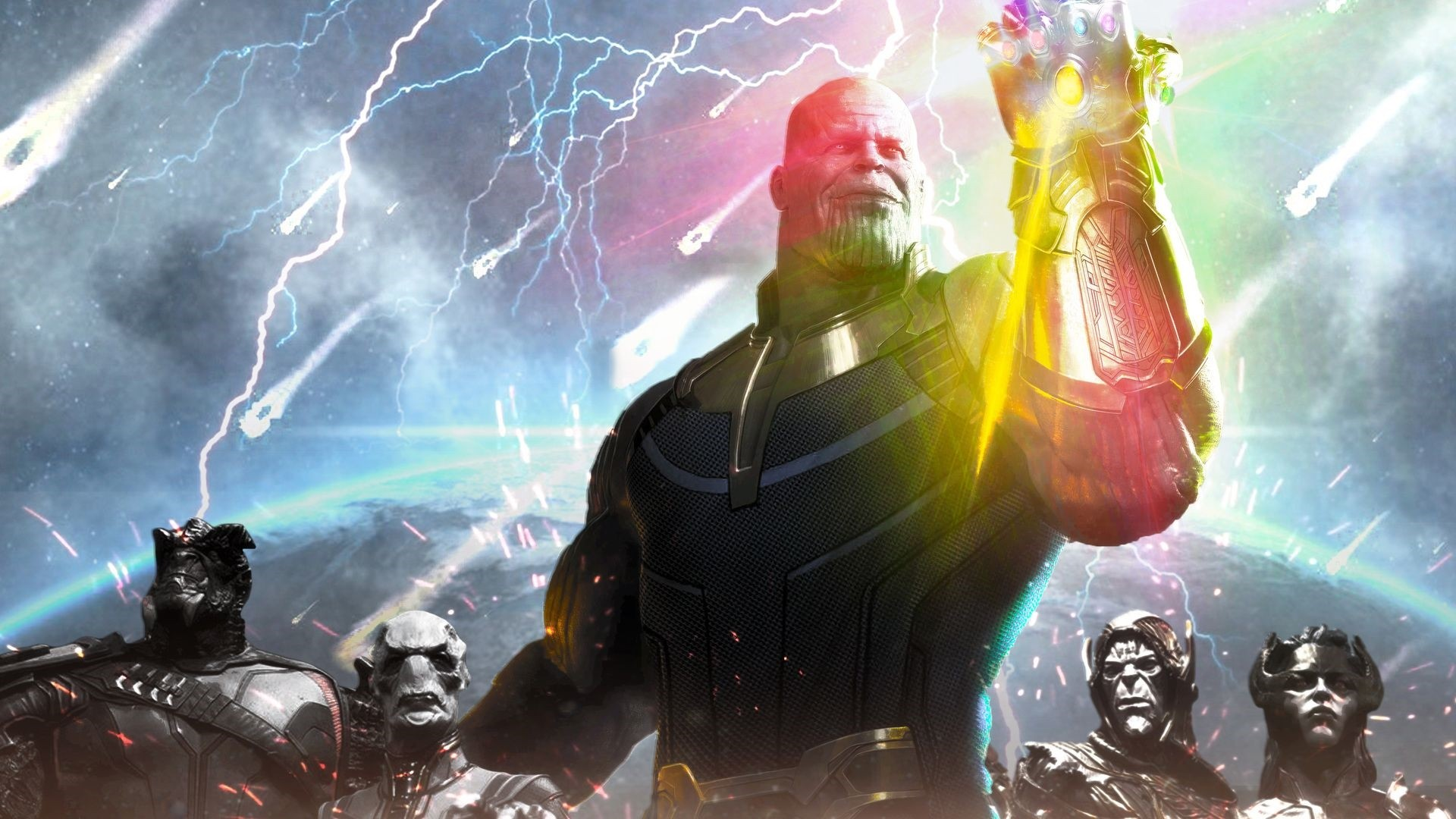 Thanos wallpaper photo hd