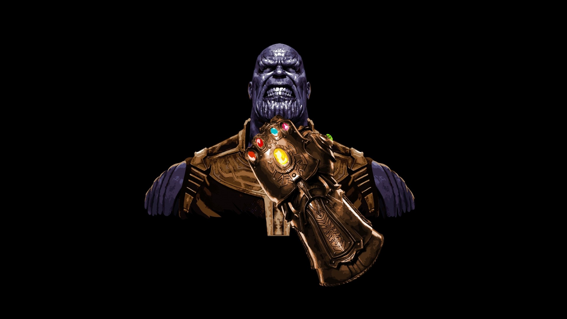 Thanos Free Wallpaper and Background