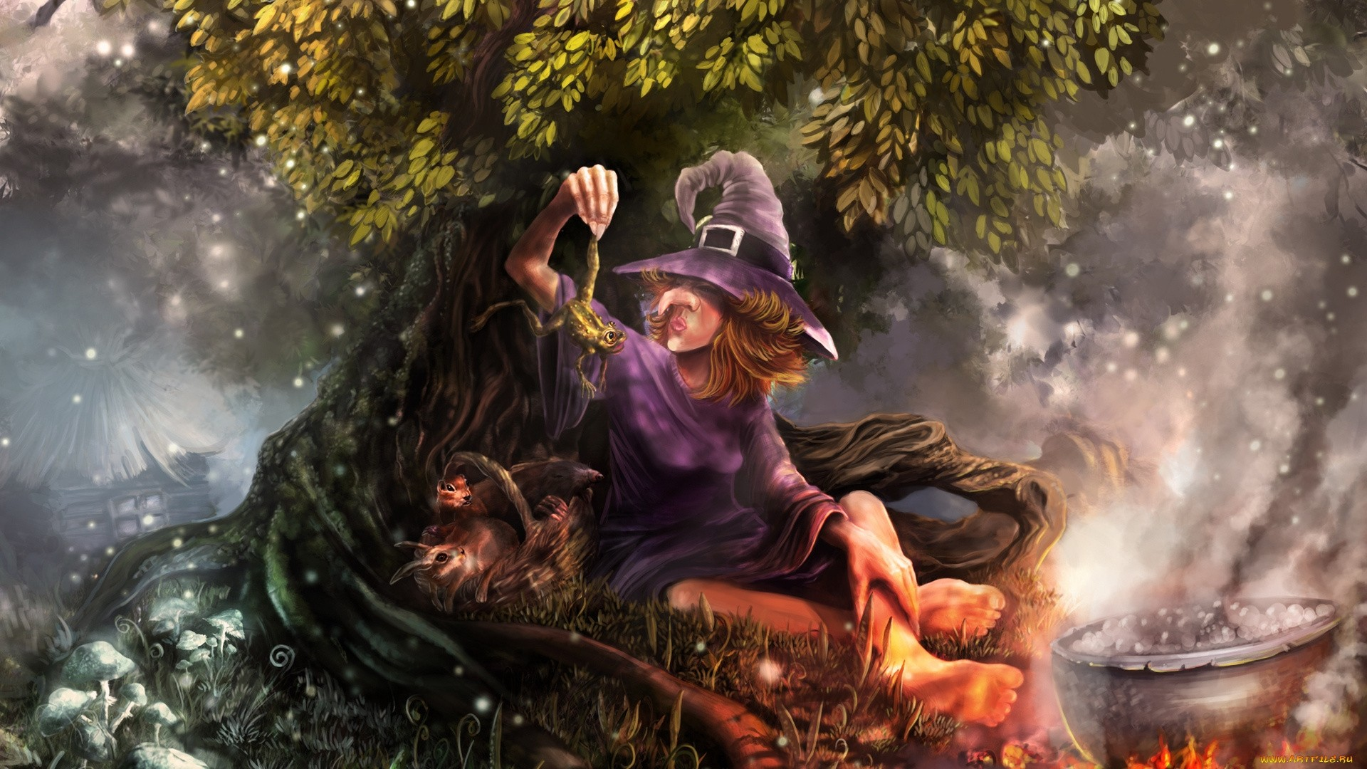 Witch hd wallpaper download