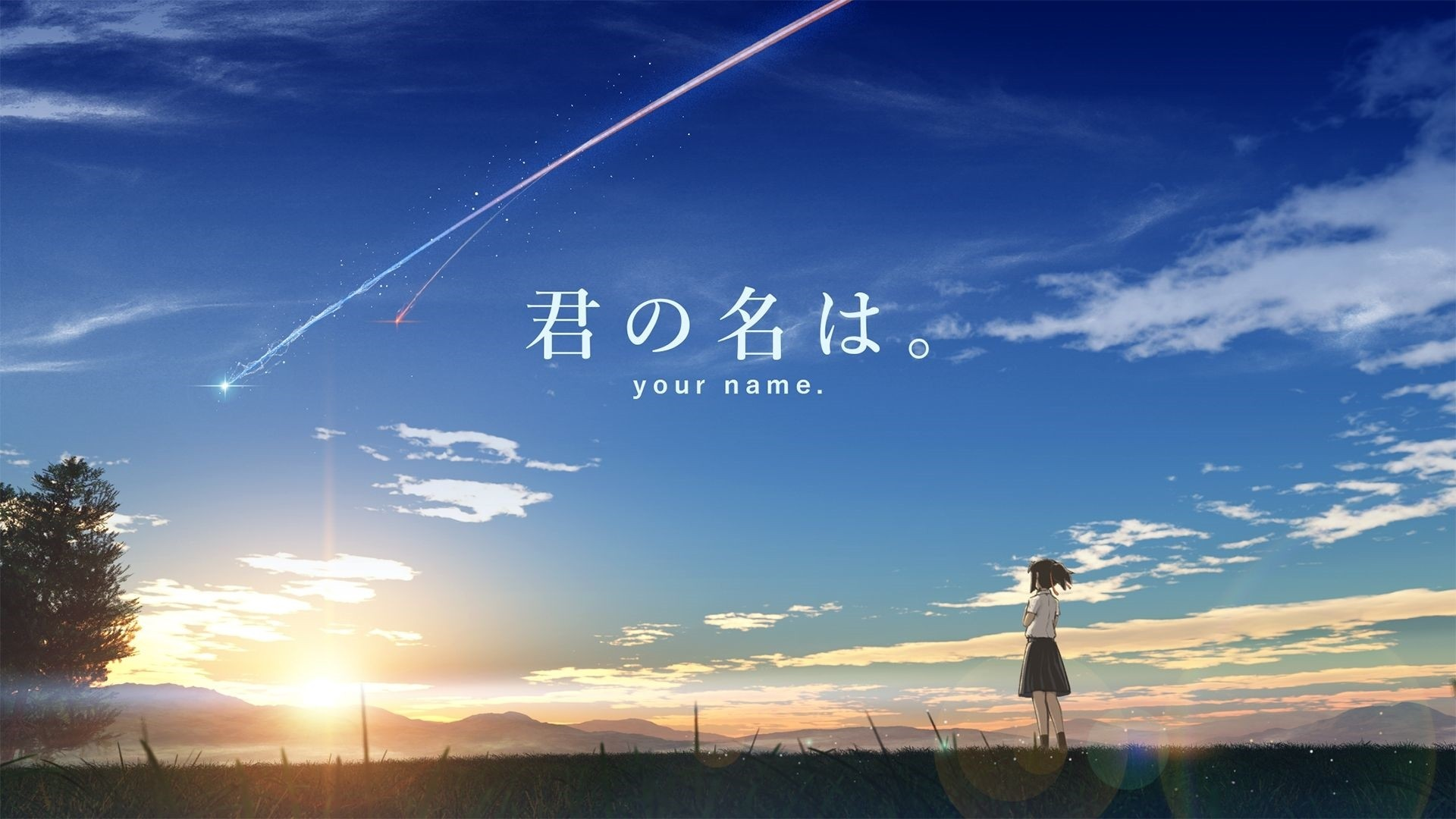 Your Name Wallpapers 20 Images Wallpaperboat