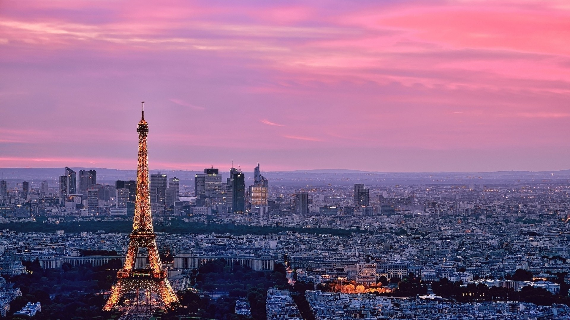Eiffel Tower hd desktop wallpaper