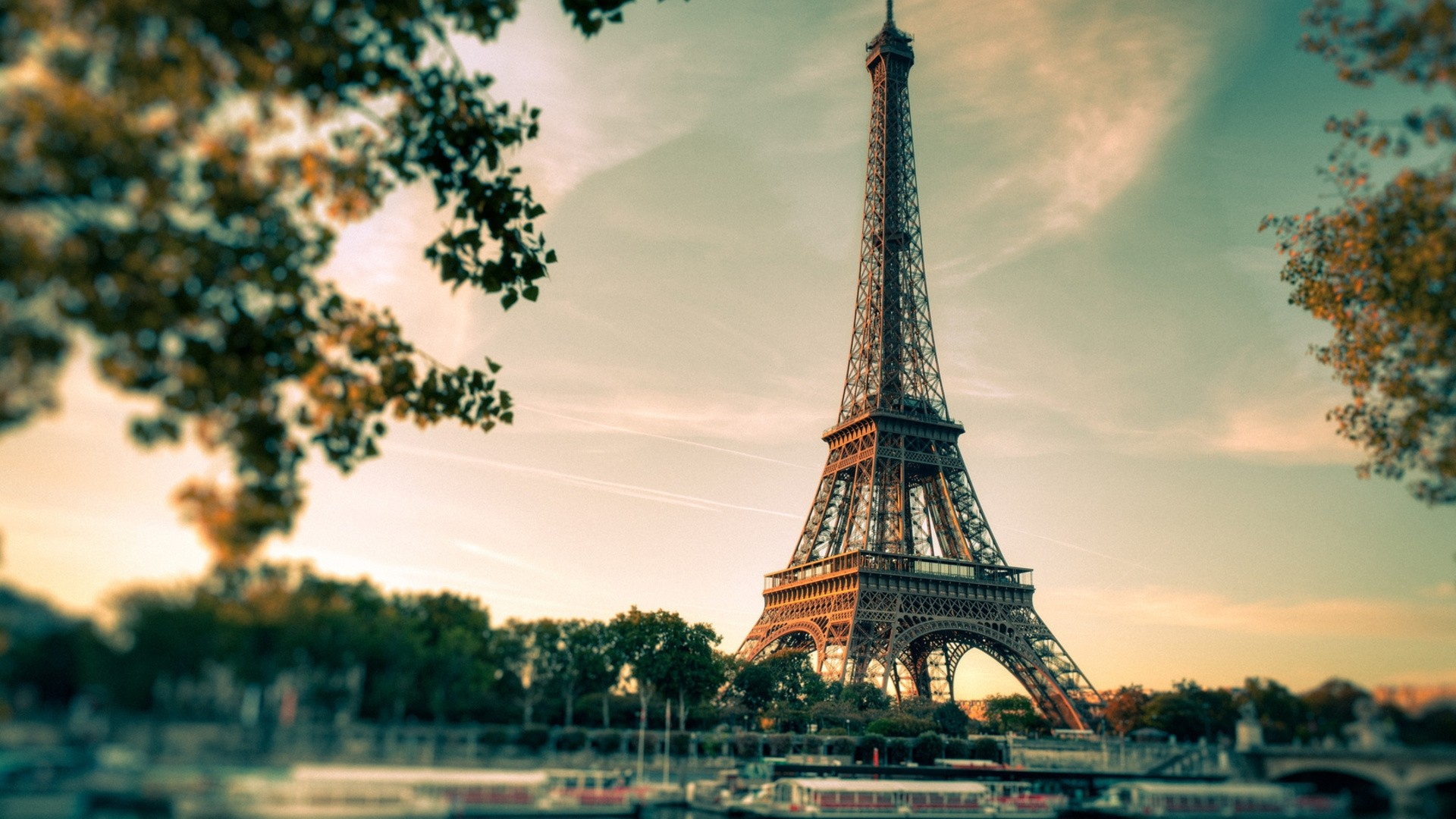 Eiffel Tower Wallpaper and Background