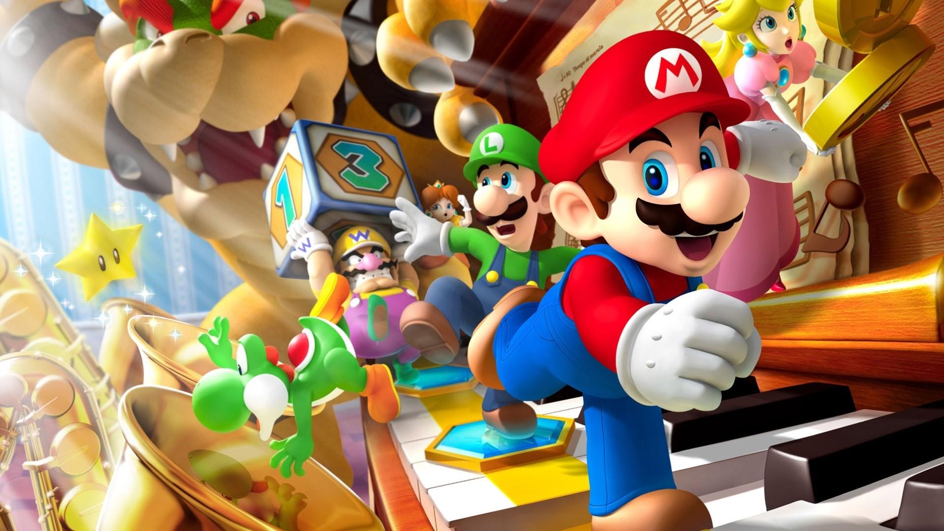 Nintendo hd desktop wallpaper