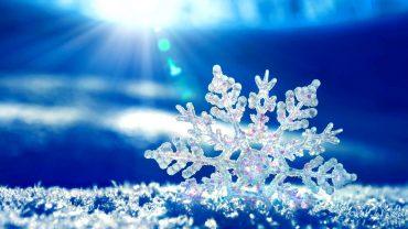 Snowflake computer wallpaper
