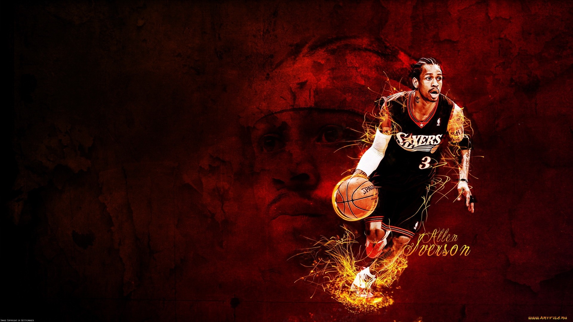 Allen Iverson Free Wallpaper and Background