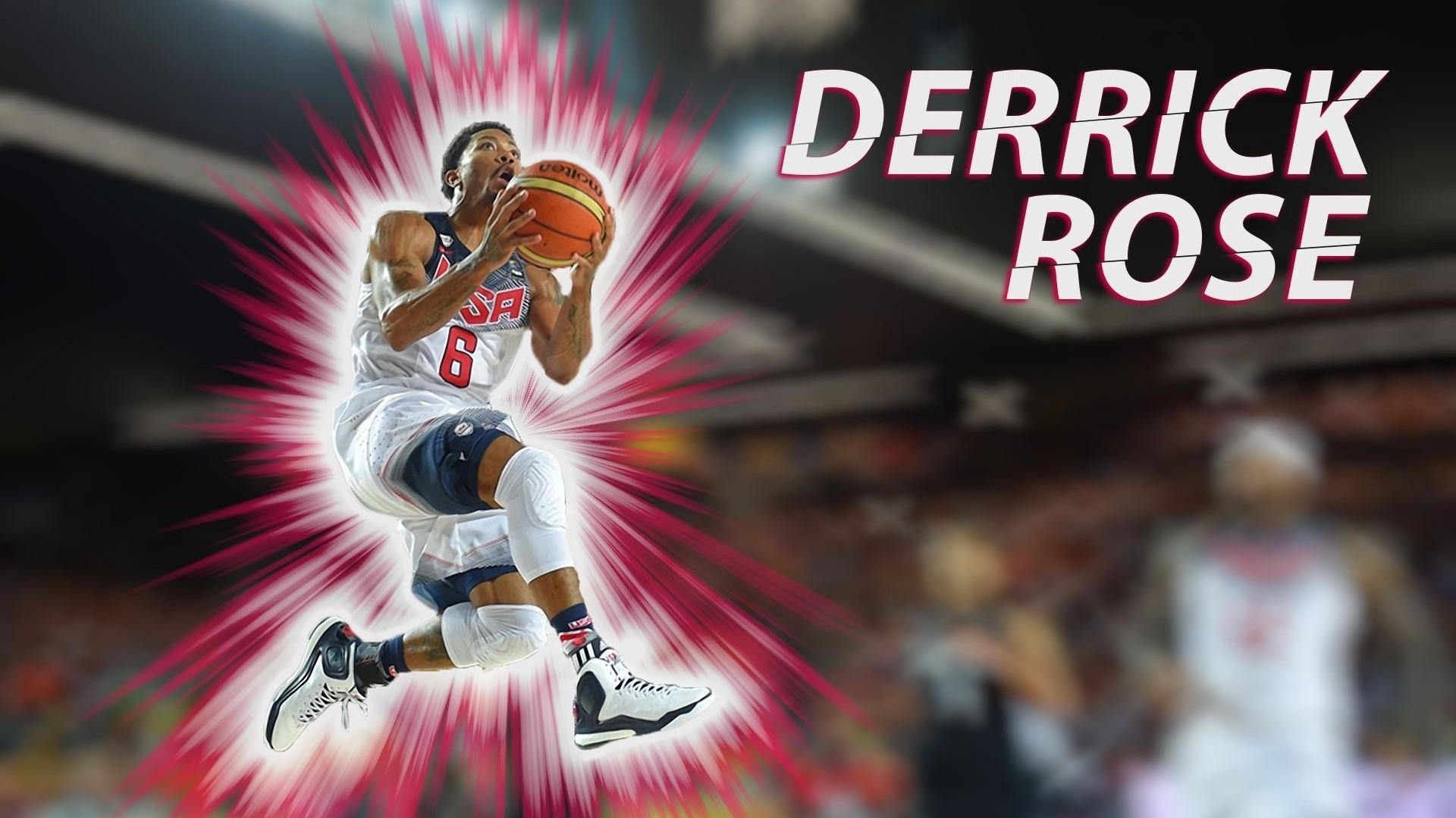 Derrick Rose HD Wallpaper