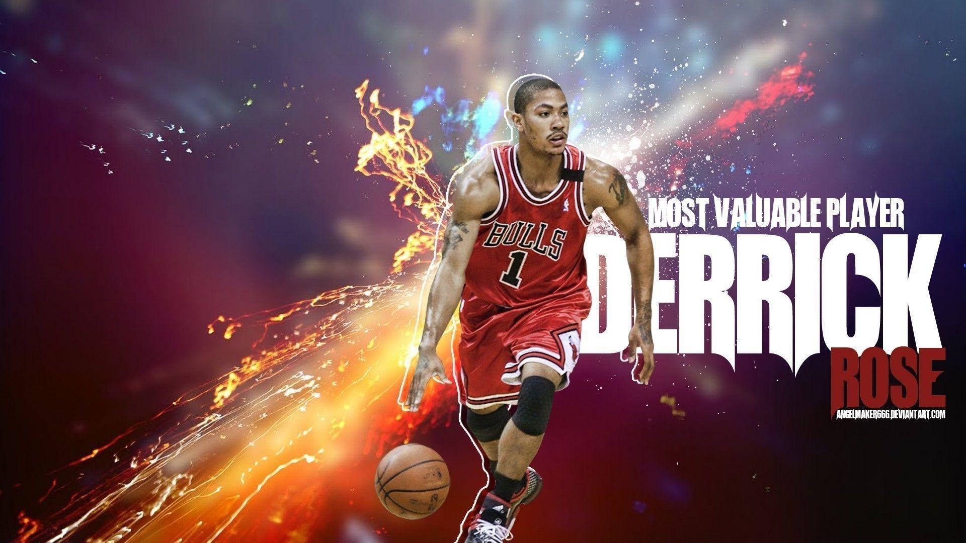 Derrick Rose Background