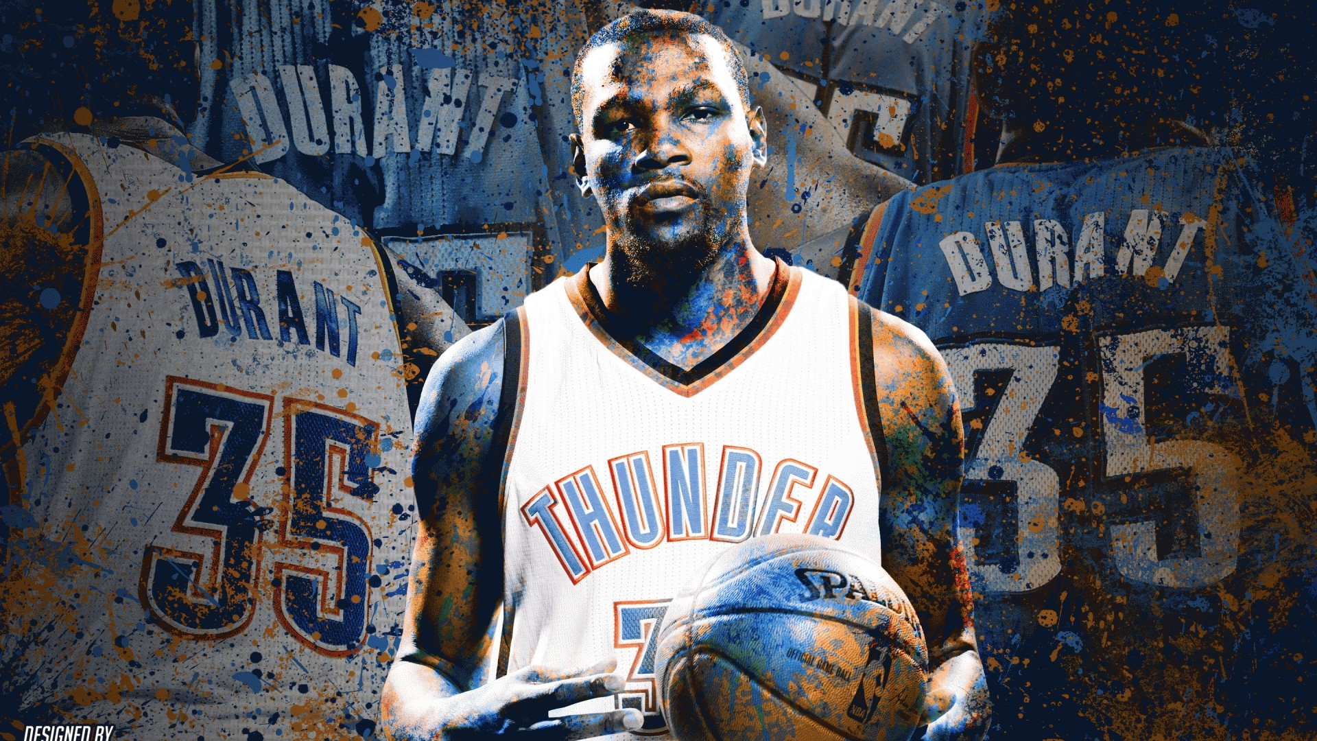 Kevin Durant Full HD Wallpaper