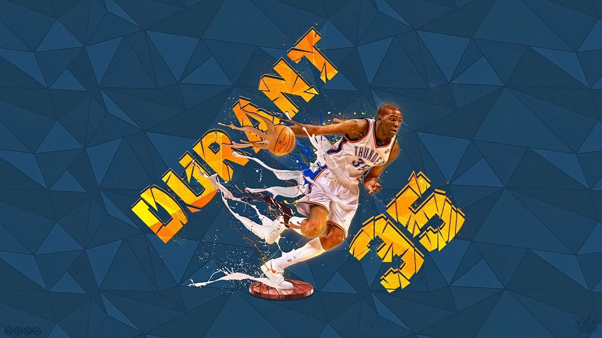 Kevin Durant HD Wallpaper