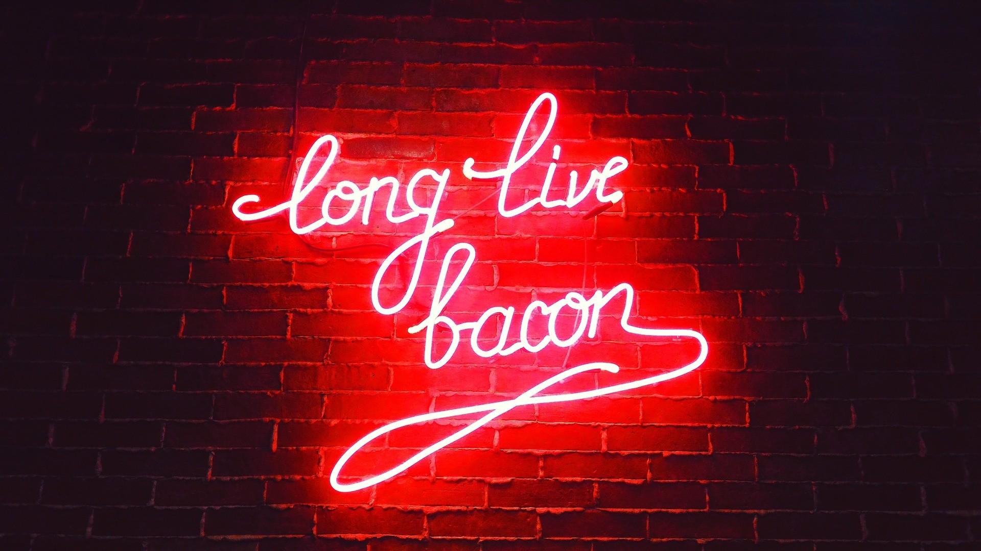 Neon Sign Background Wallpaper
