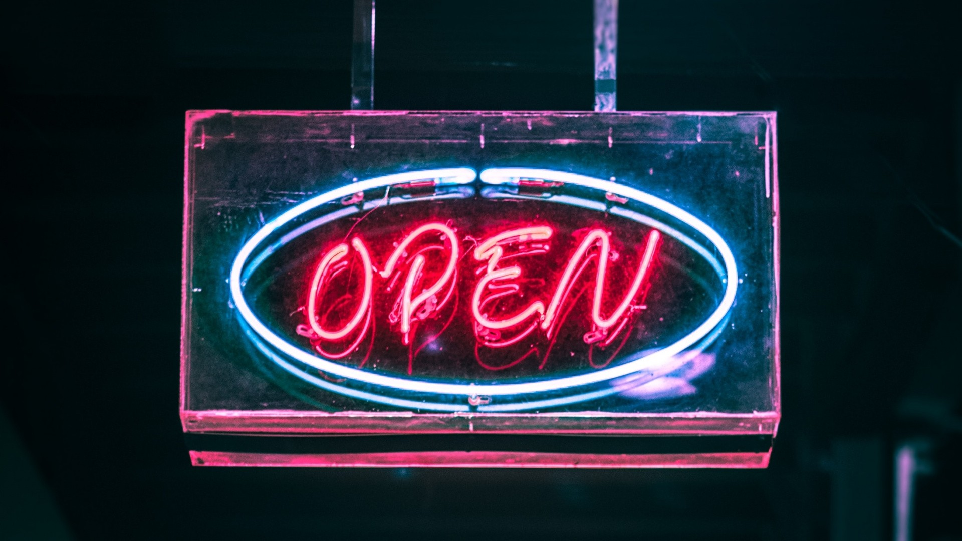 Neon Sign Background