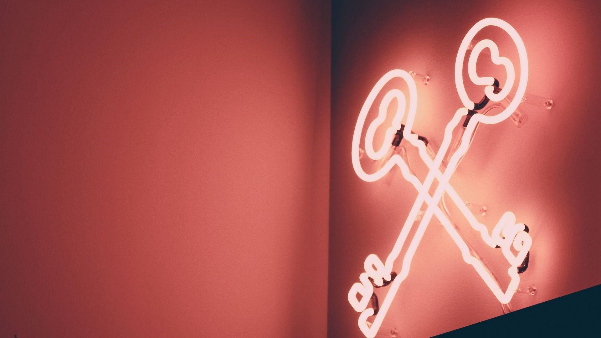 Neon Sign HD Wallpaper