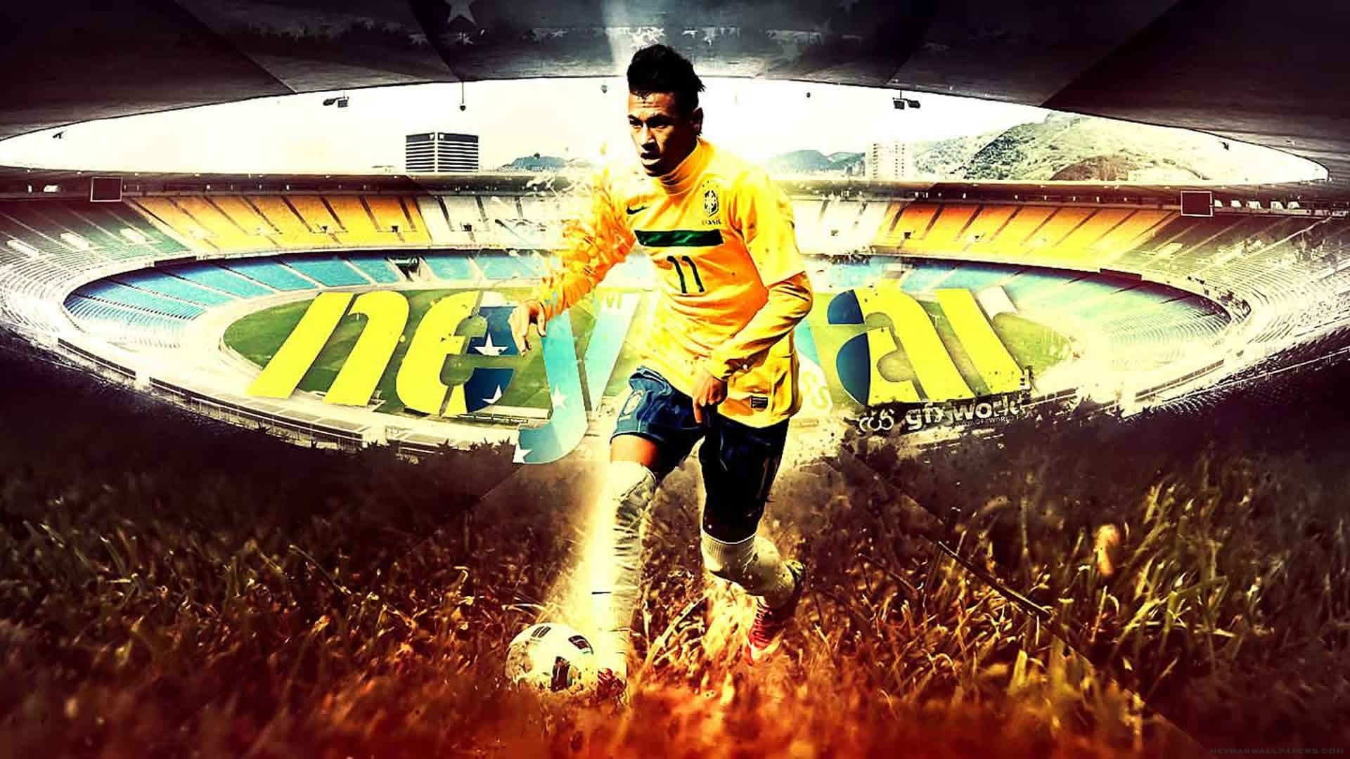 Neymar Free Wallpaper and Background