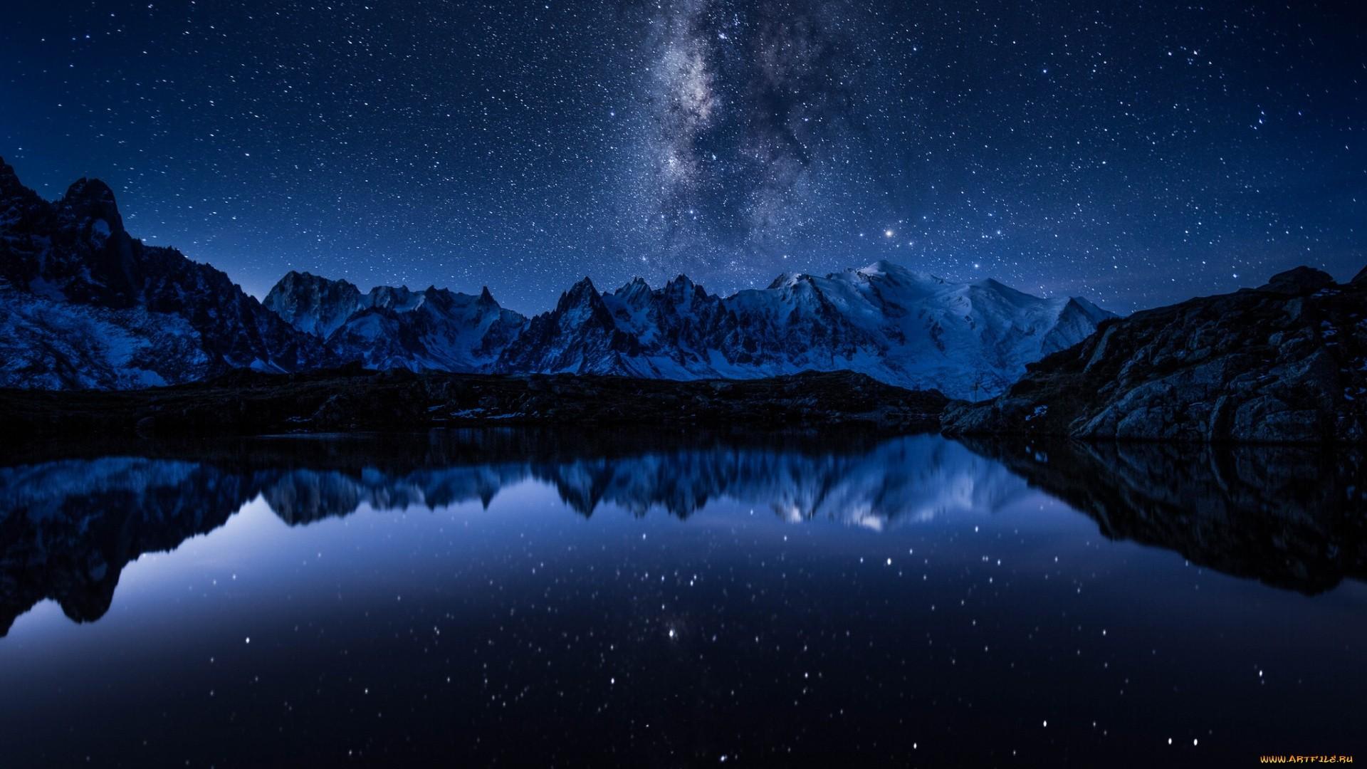 Night Desktop Wallpaper