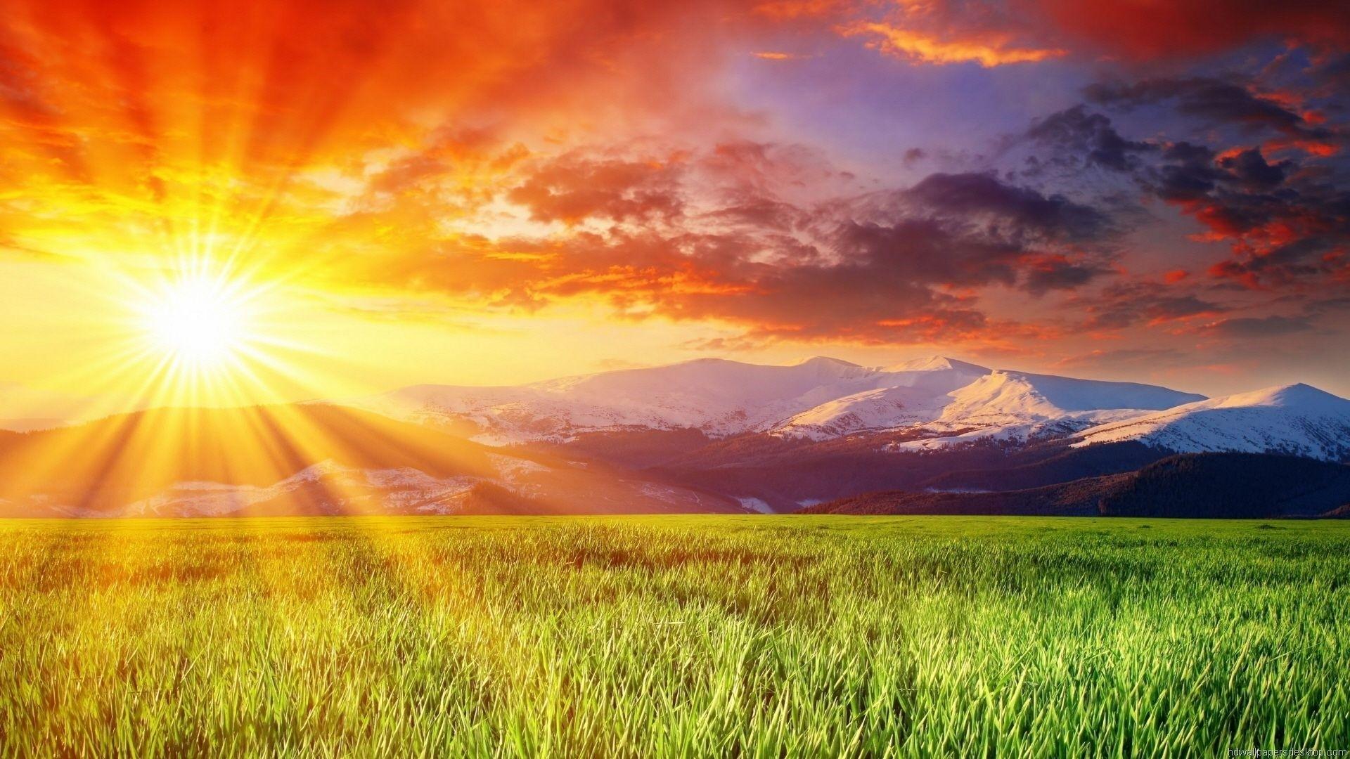Sun Desktop Wallpaper