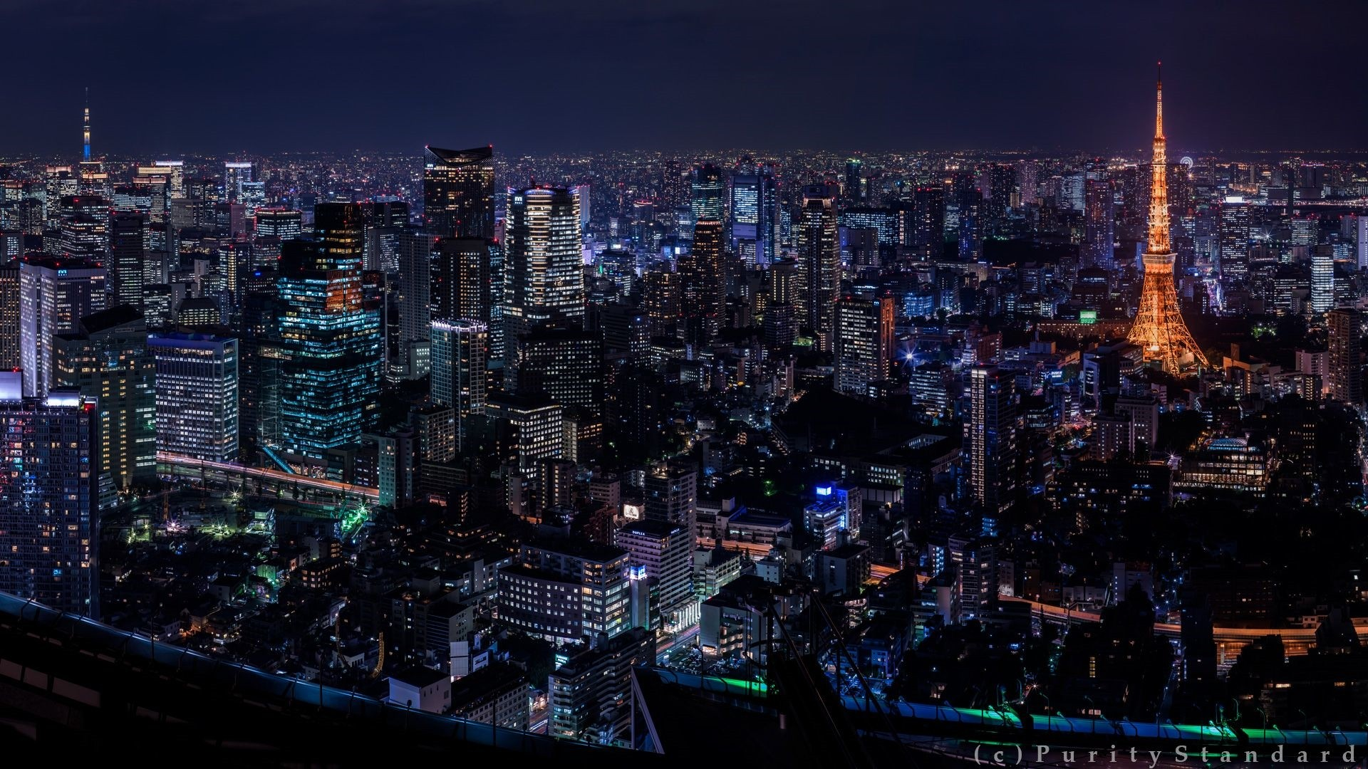 Tokyo Background Wallpaper