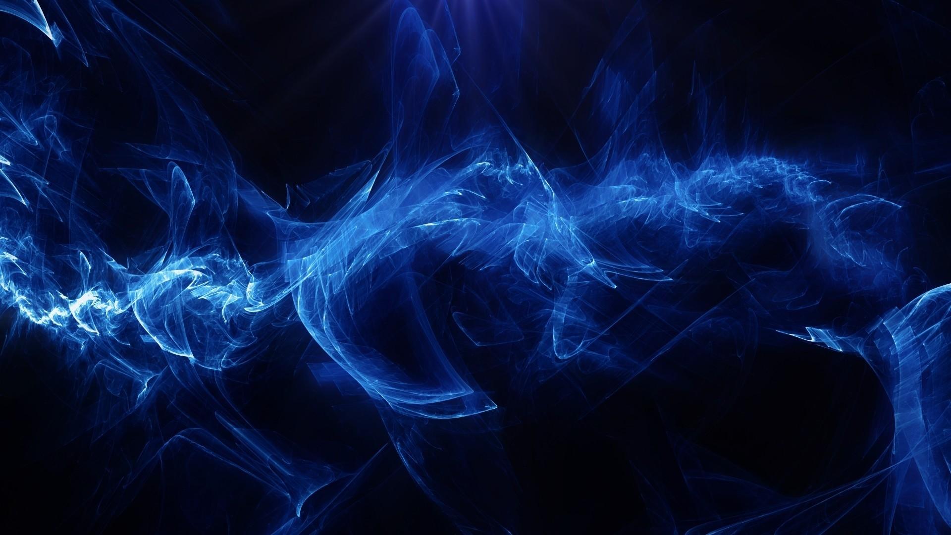 Black And Blue hd desktop wallpaper