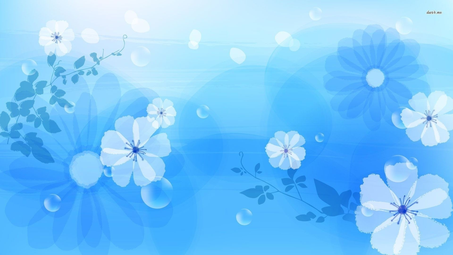 Blue Flower hd wallpaper download