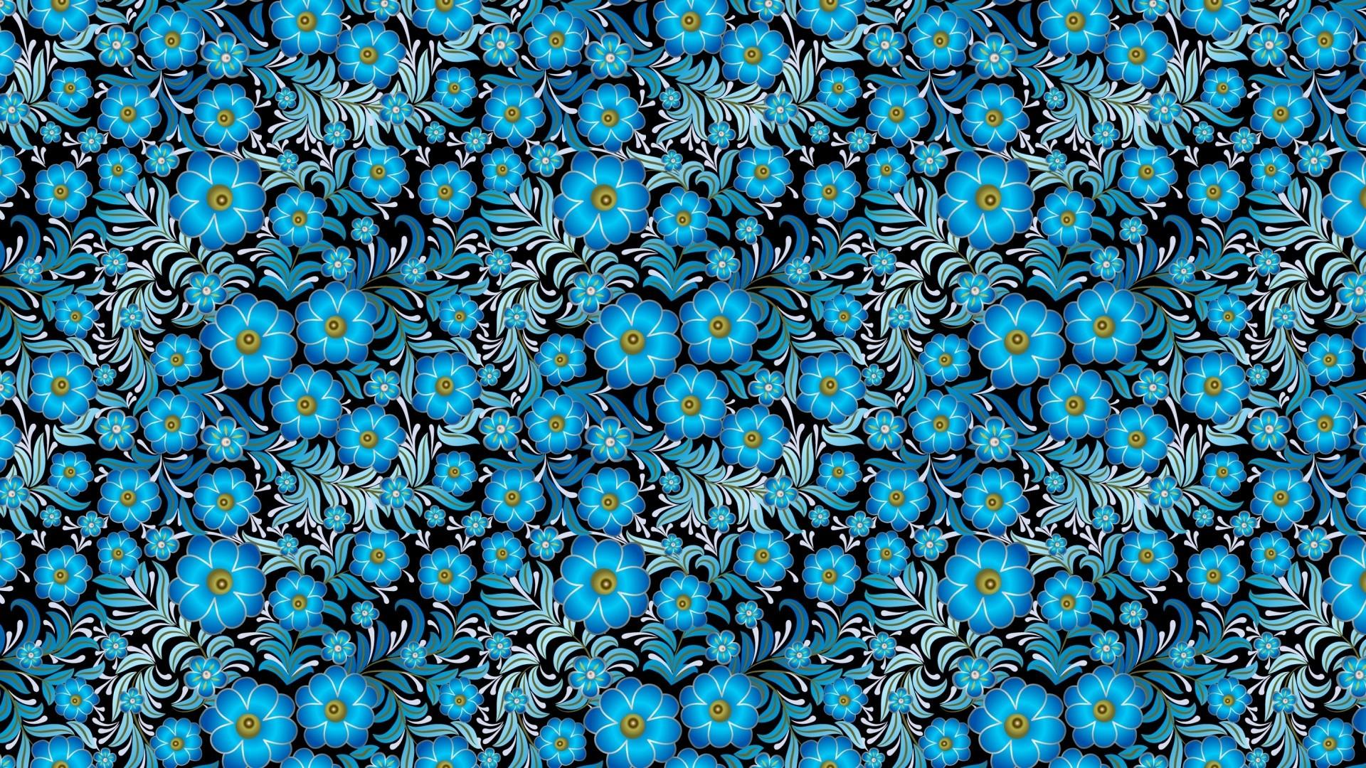Blue Flower Free Wallpaper