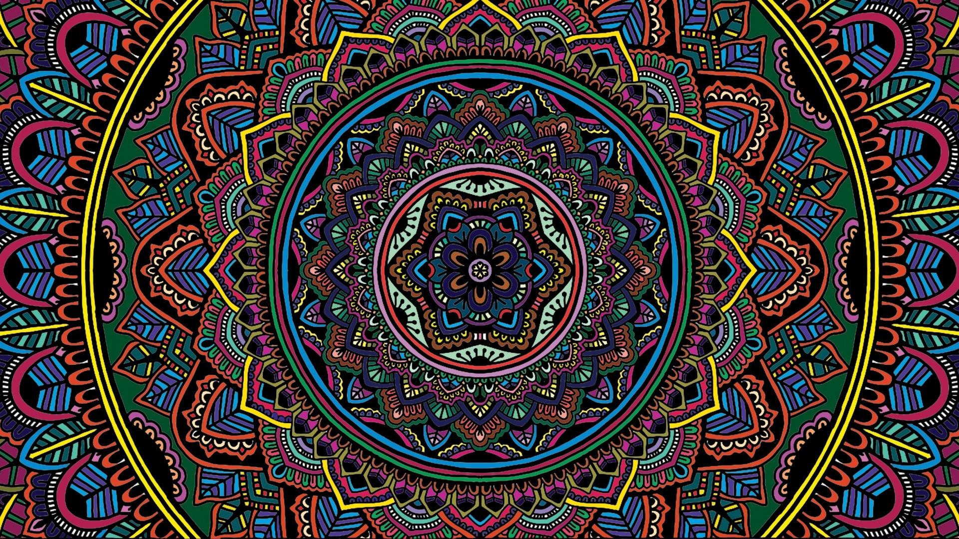 Mandala PC Wallpaper HD