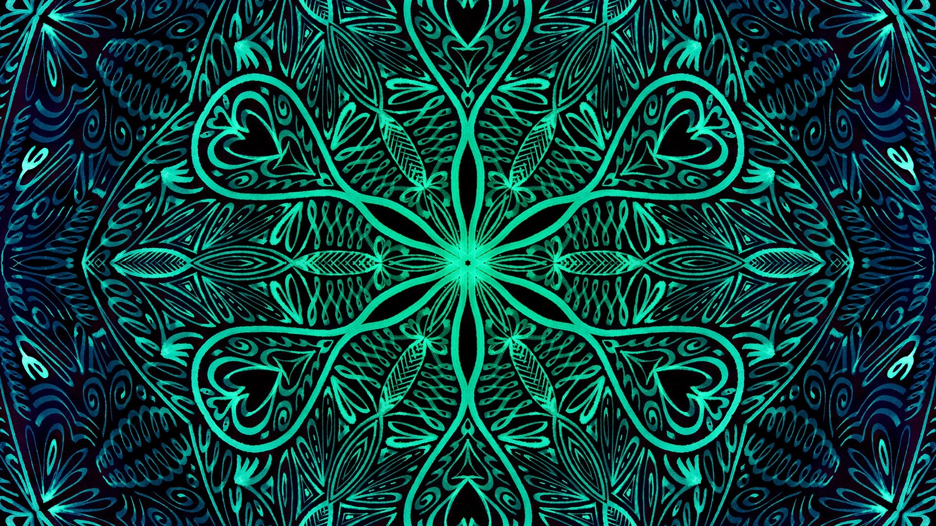 Mandala Wallpaper theme