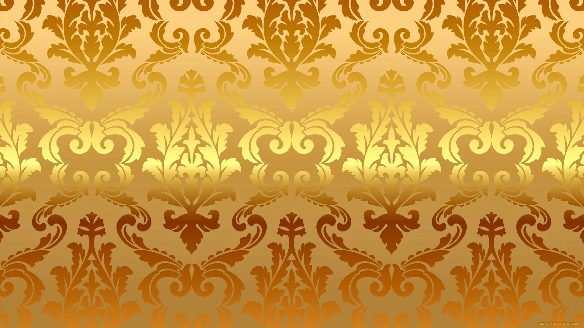White And Gold HD Wallpaper
